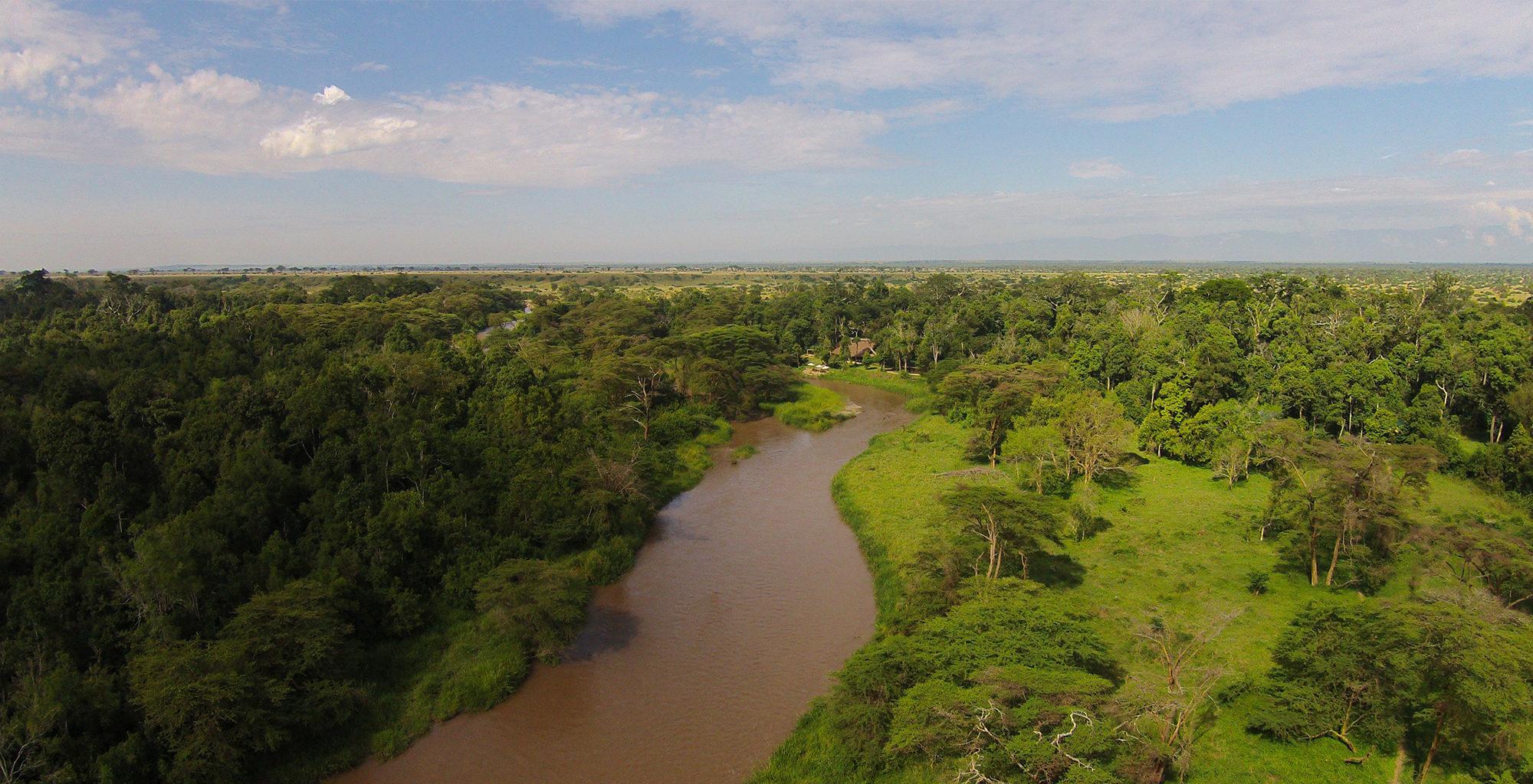 Uganda-Queen-Elizabeth-National-Park-River