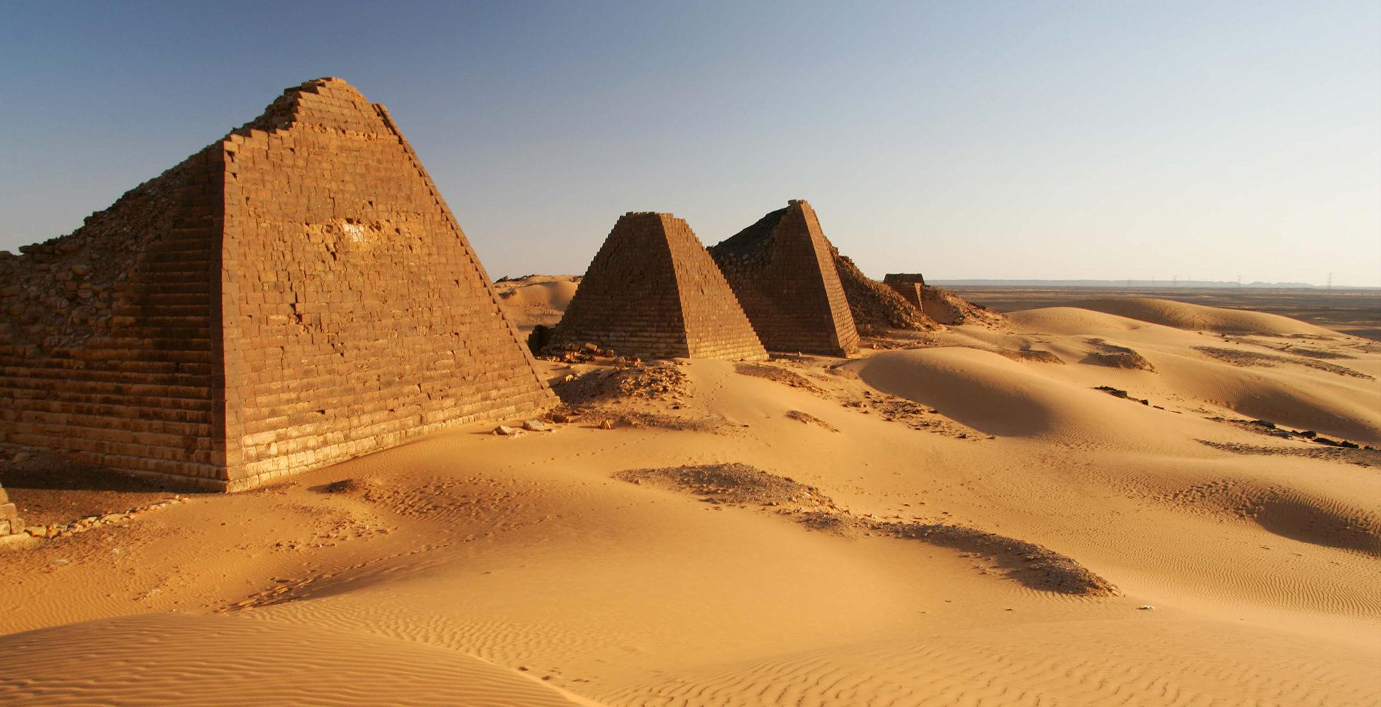 Sudan-Meroe-Pyramids