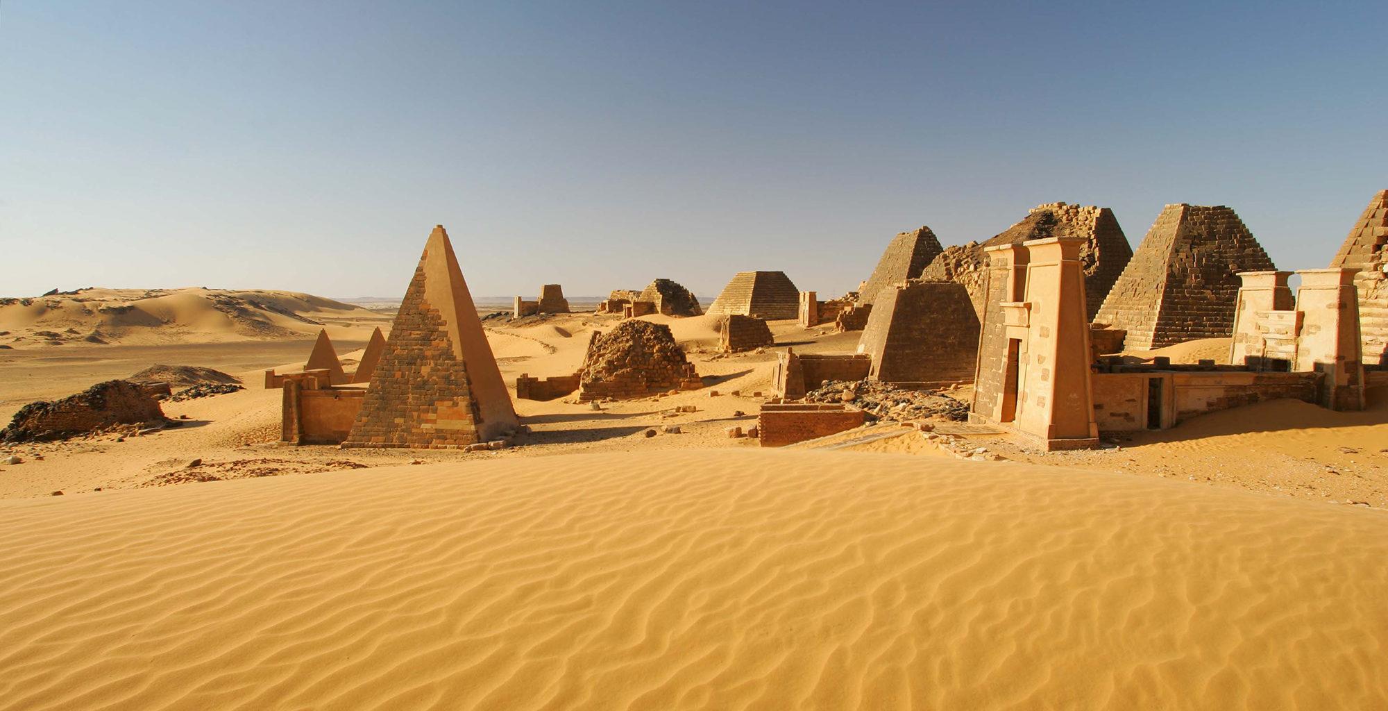 Sudan-Meroe-Architecture