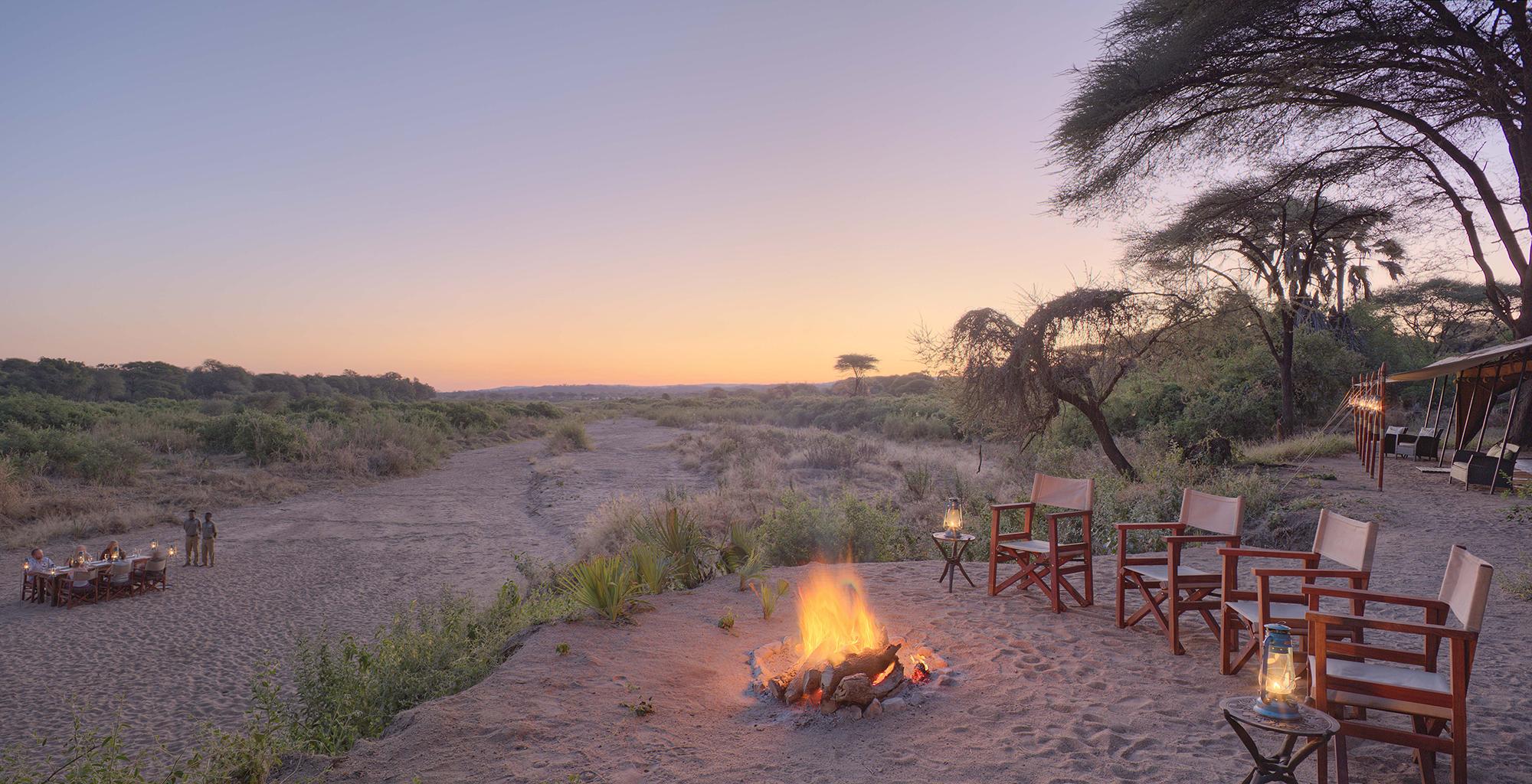Tanzania-Kichaka-Expeditions-Campfire