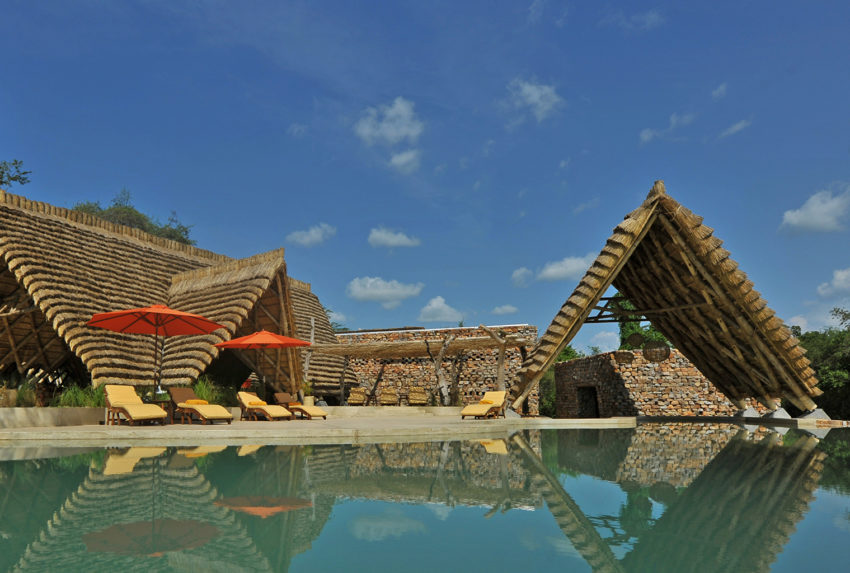 Uganda-Murchison-Falls-Nile-Safari-Lodge-Exterior-Pool