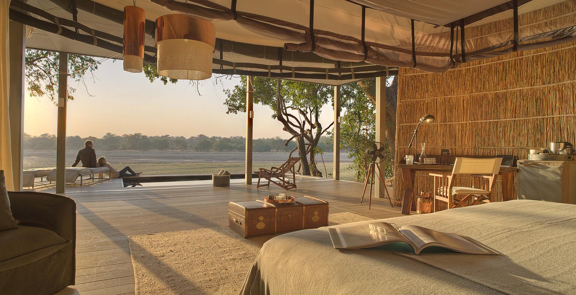 Zambia-Chinzombo-Bedroom