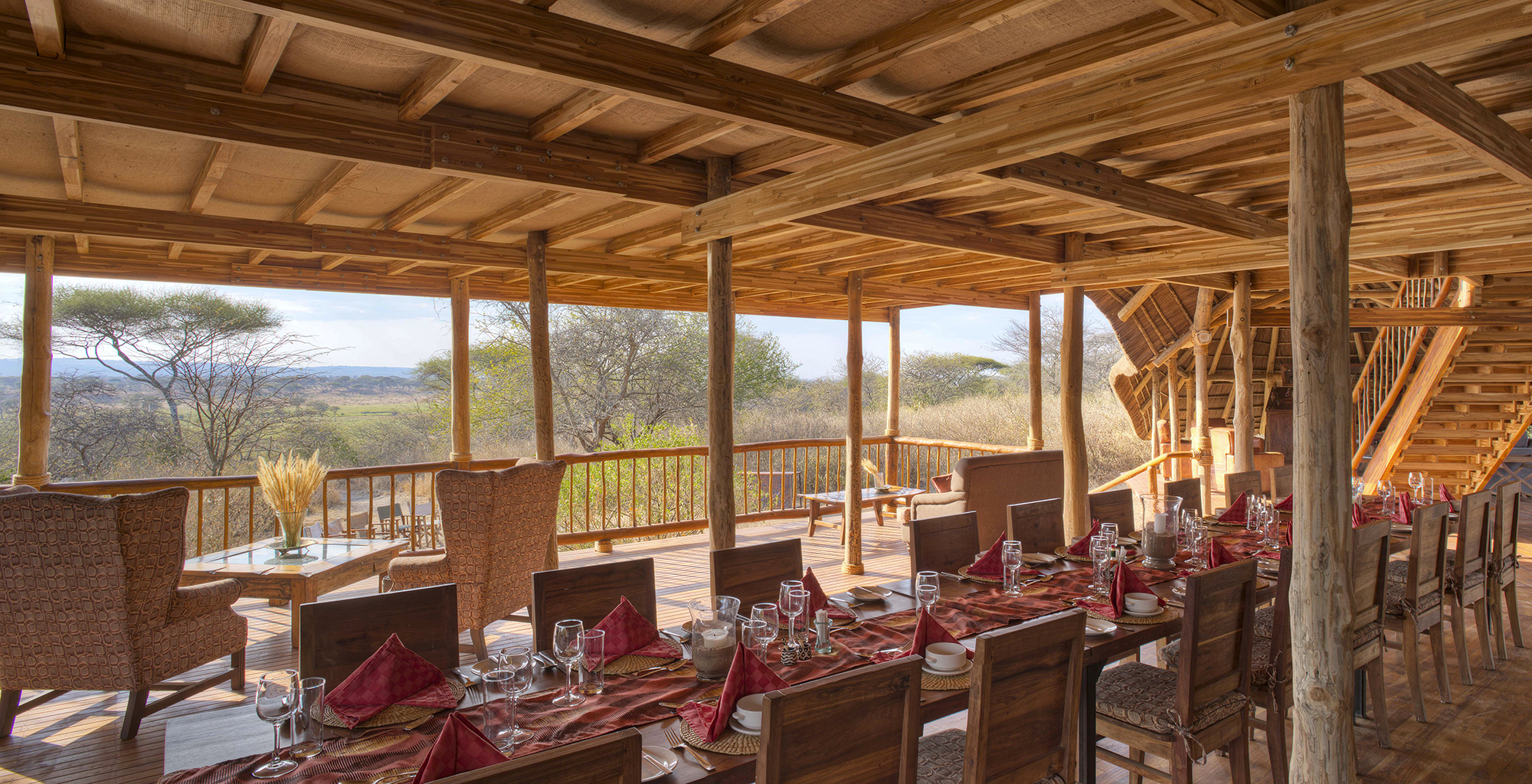 Tanzania-Olivers-Tented-Camp-Indoor-Dining