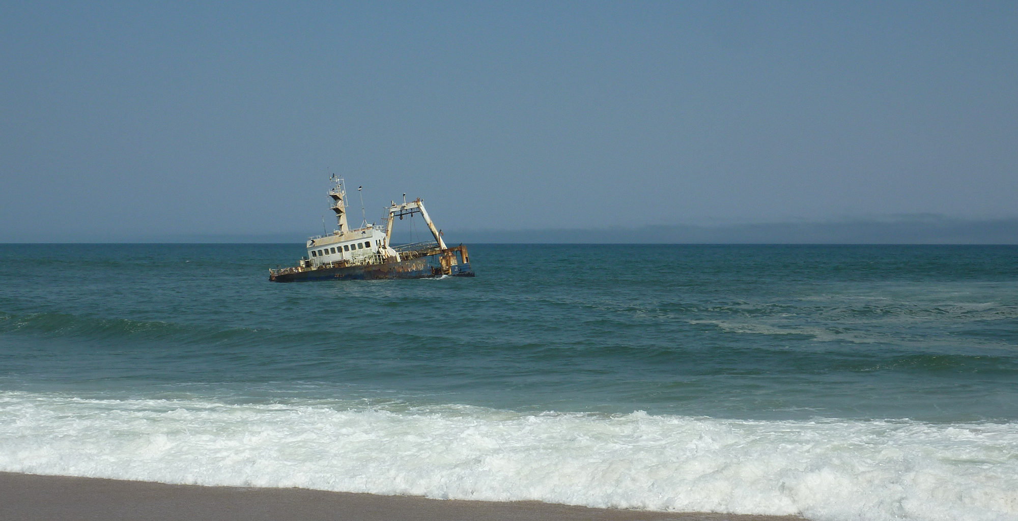 Namibia-Swakopmund-Boat