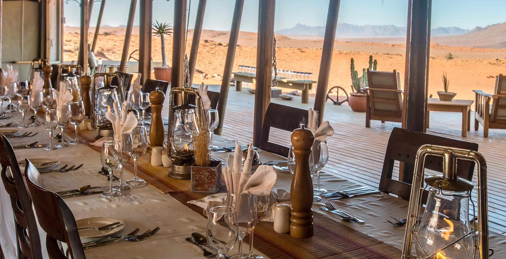 Namibia-Wolwedans-Dune-Camp-Dining