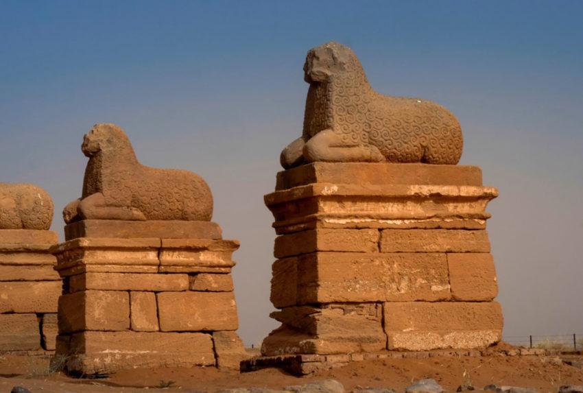 Sudan-Musawwarat-Statue