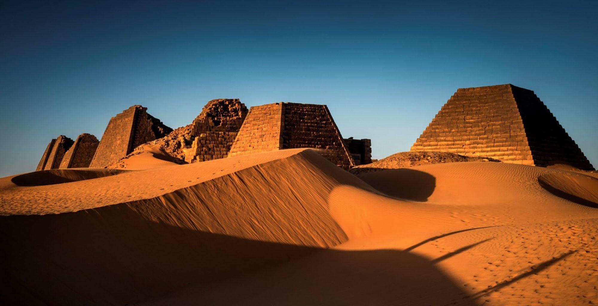 Sudan-Meroe-Desert