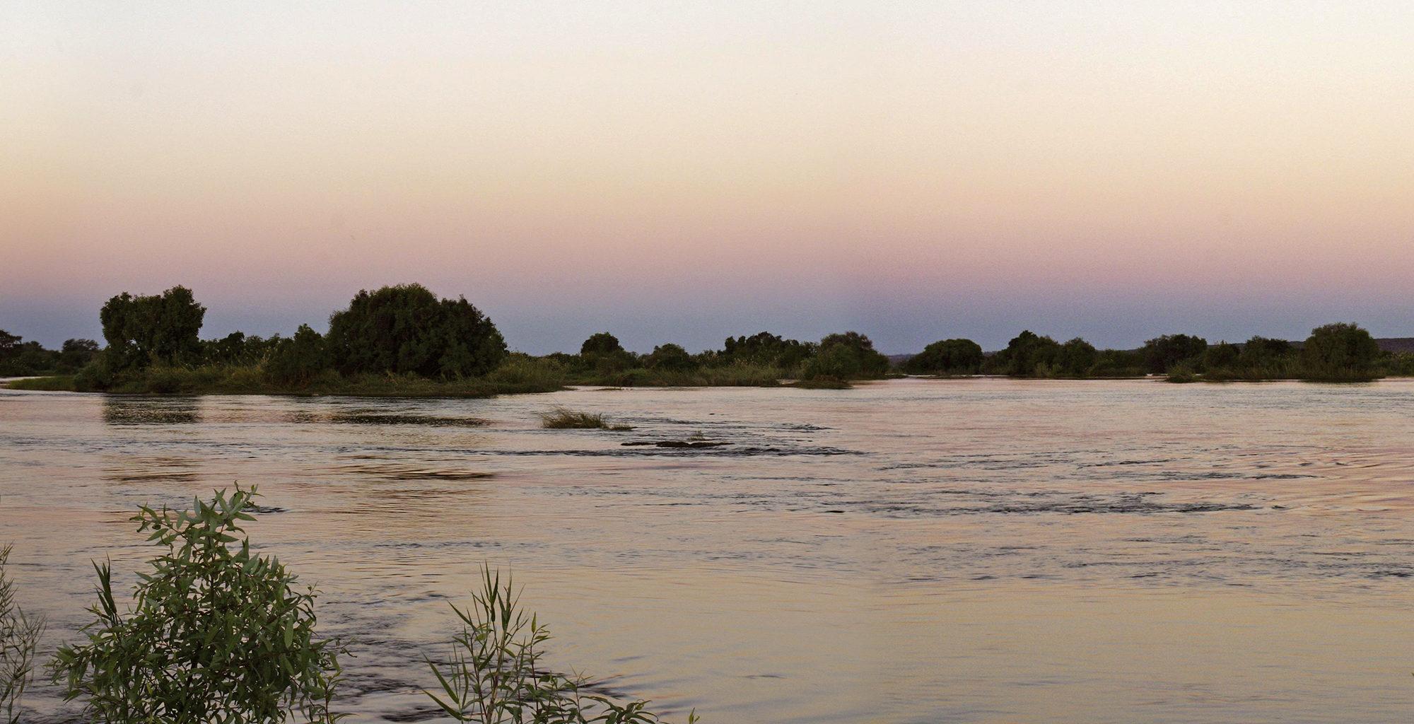 Zambia-Victoria-Falls-Sunset