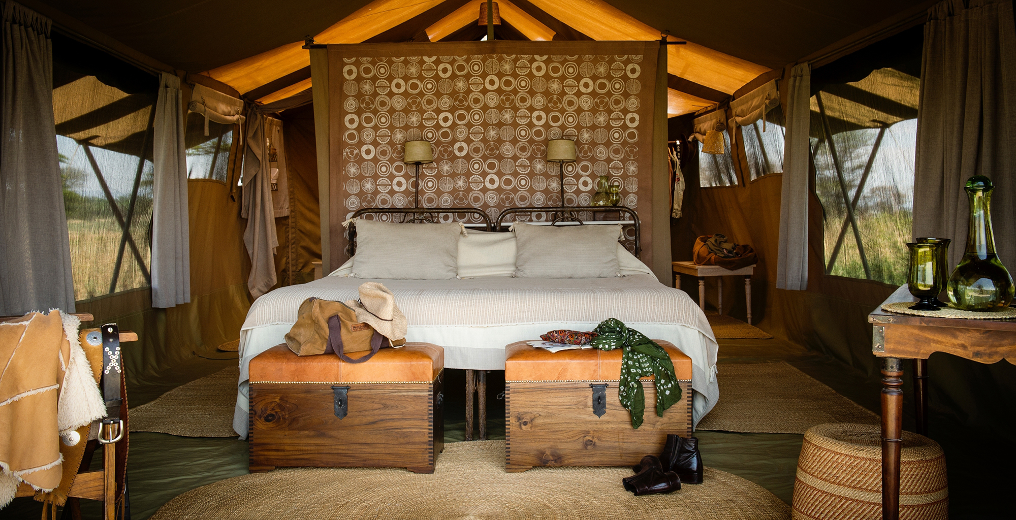 Tanzania-Serengeti-Safari-Camp-Bedroom