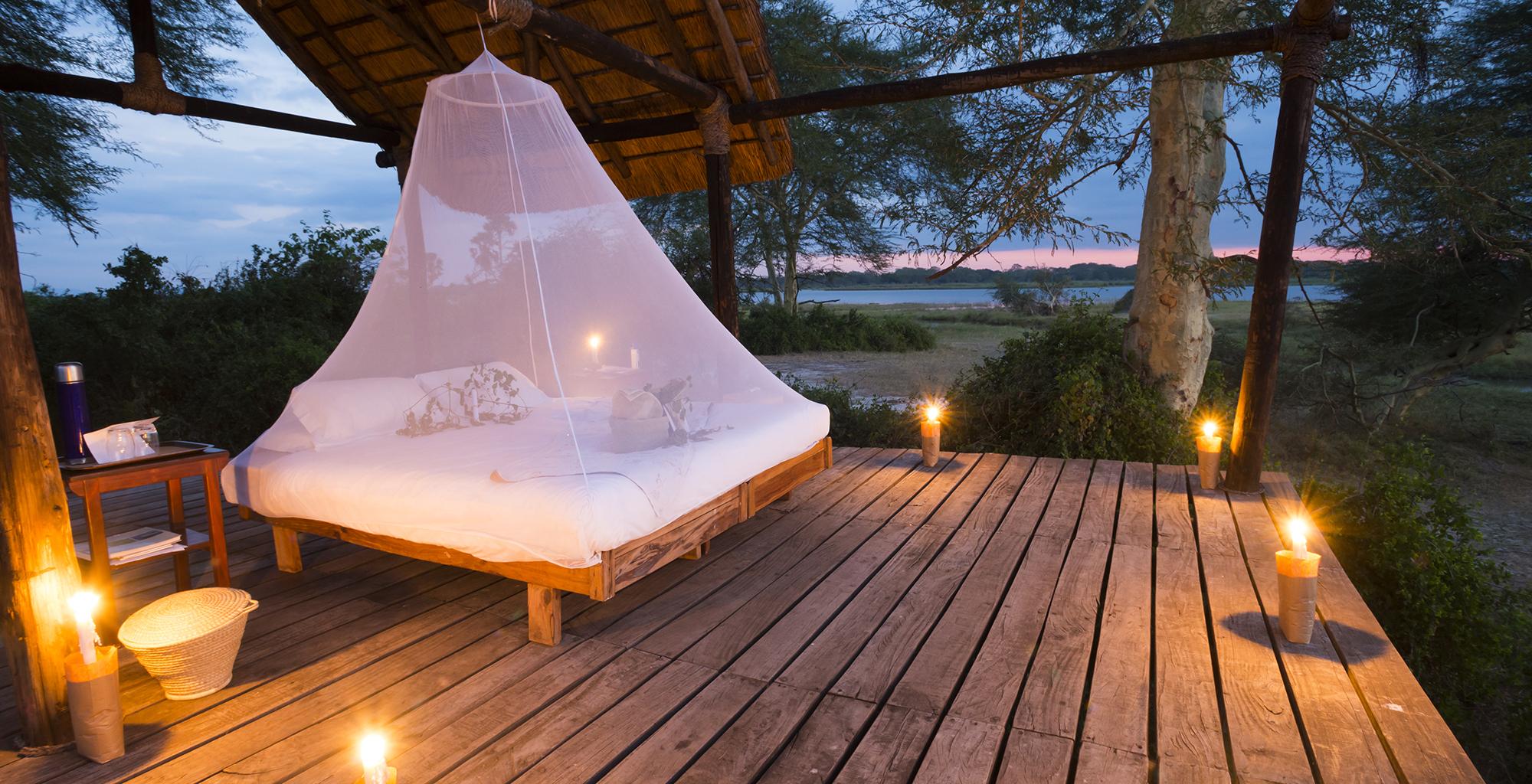 Malawi-Liwonde-National-Park-Mvuu-Lodge-Star-Bed