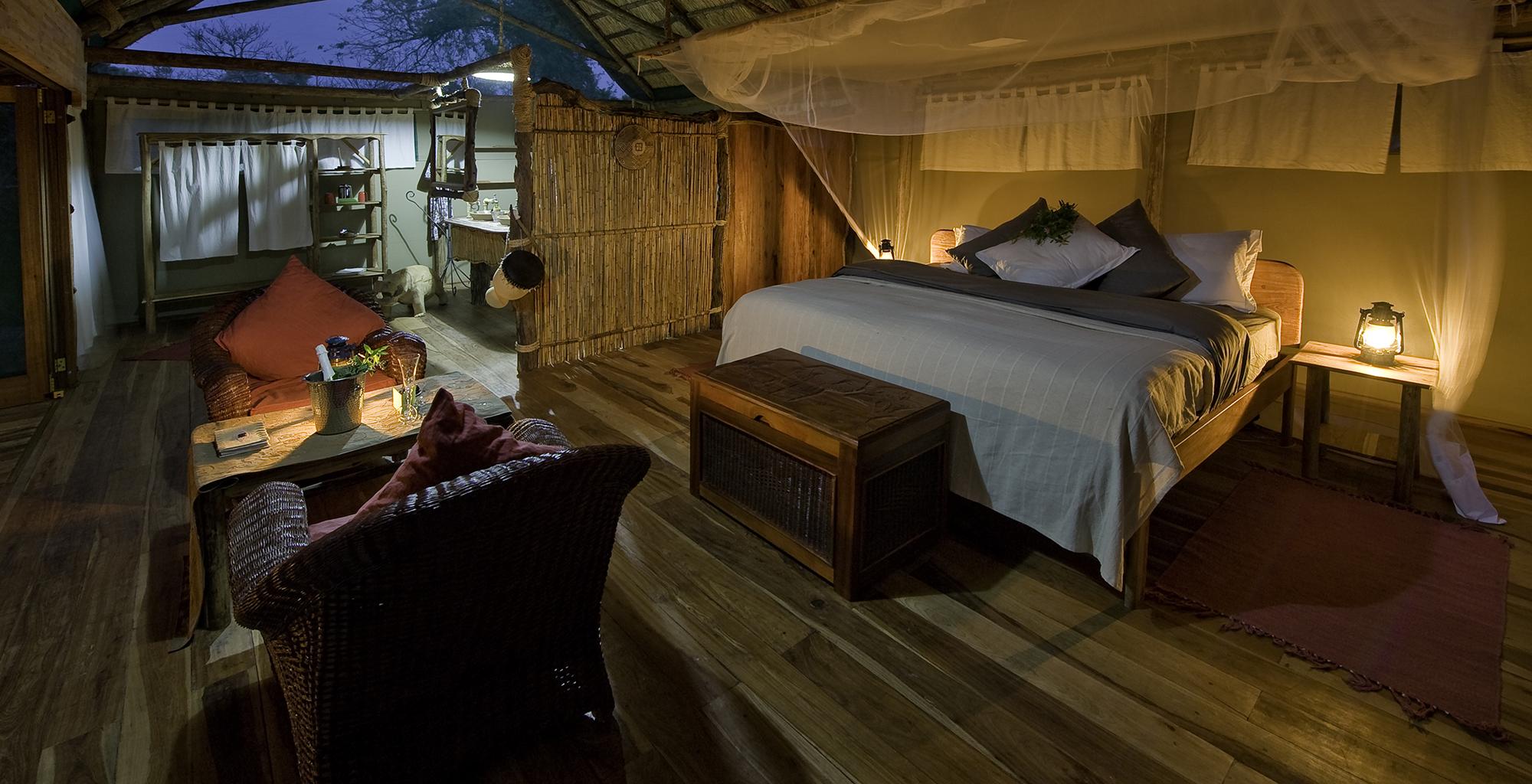 Malawi-Liwonde-National-Park-Mvuu-Lodge-Bedroom