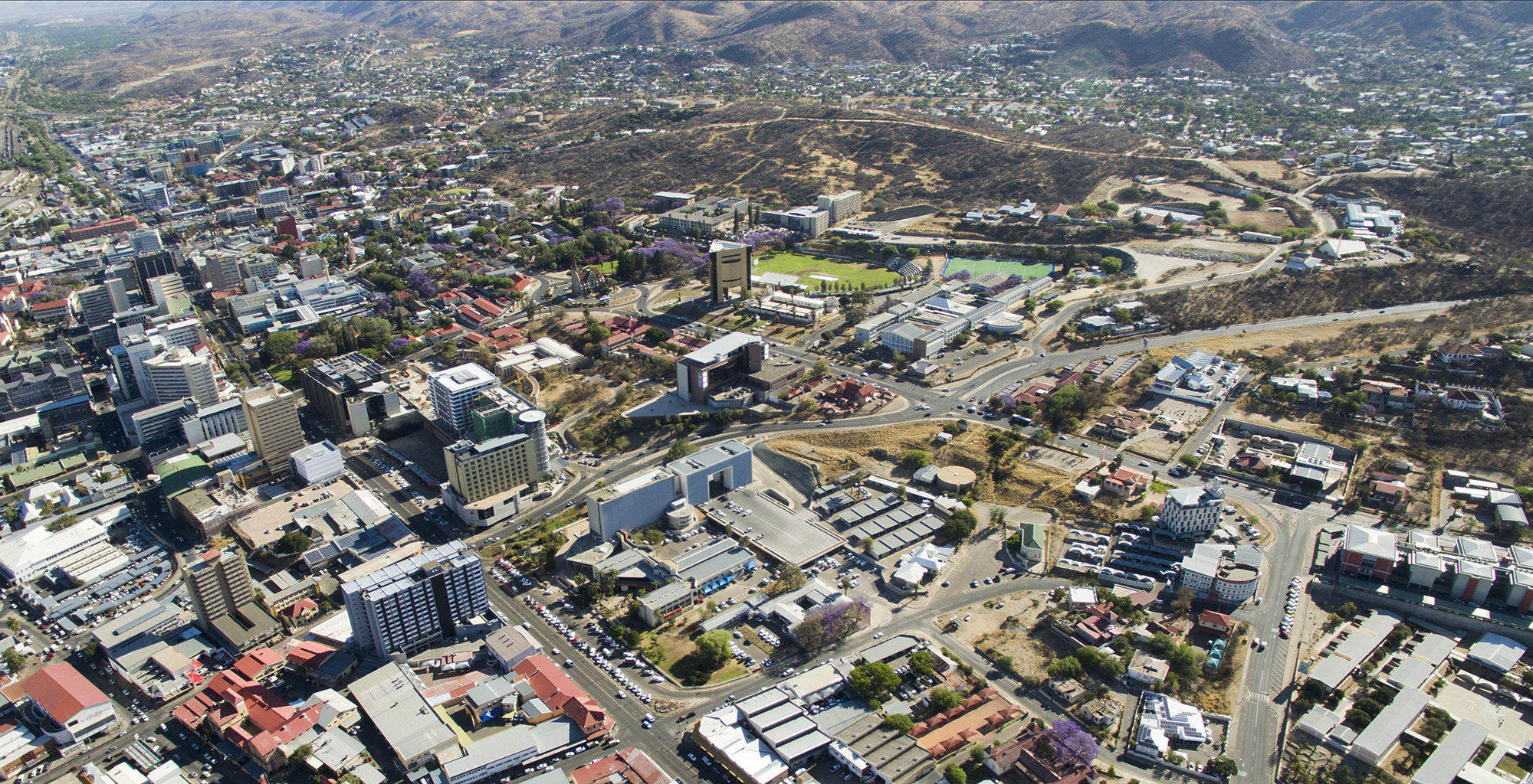 Namibia-Windhoek-Surrounds-Aerial