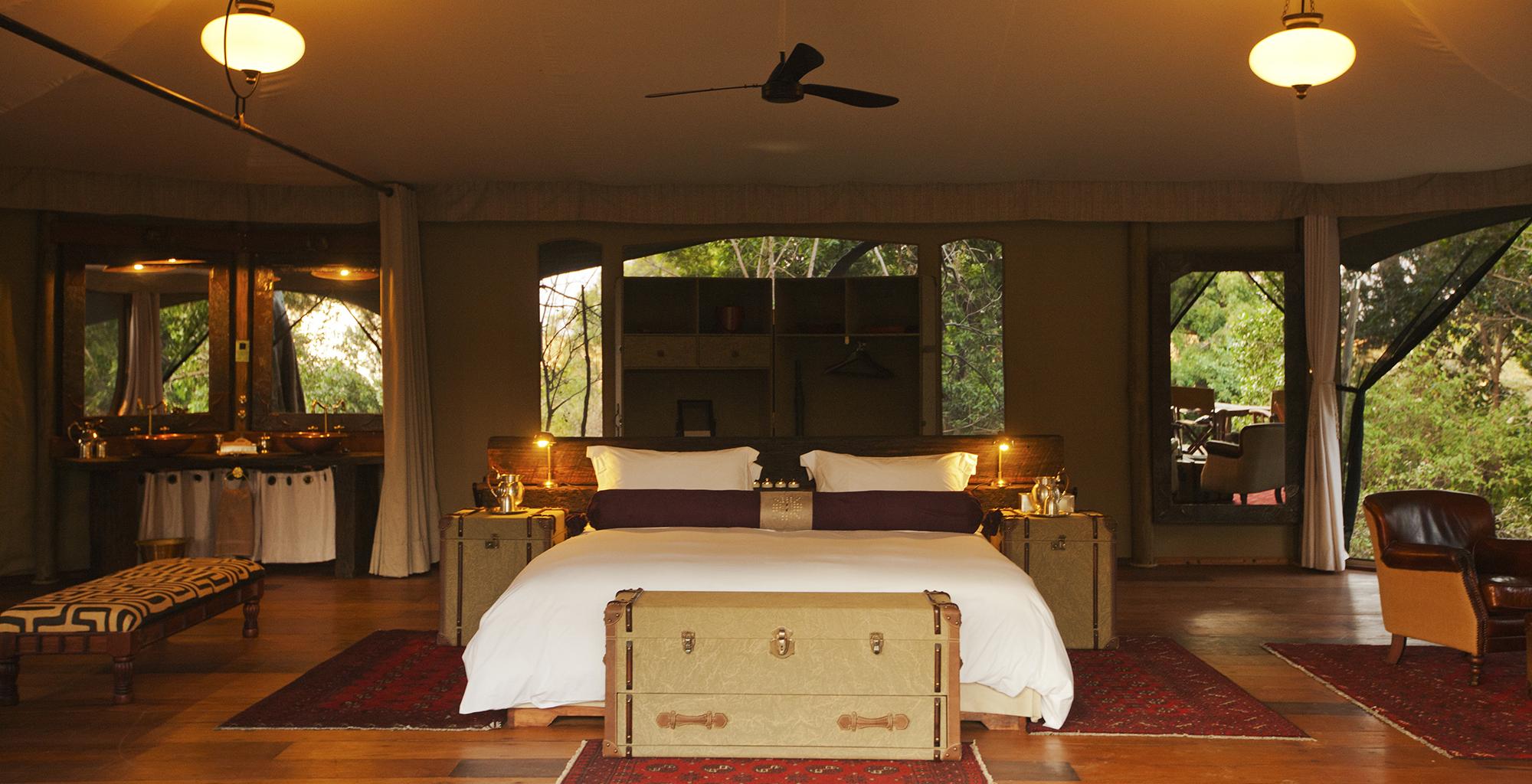 Kenya-Mara-Plains-Camp-Bedroom