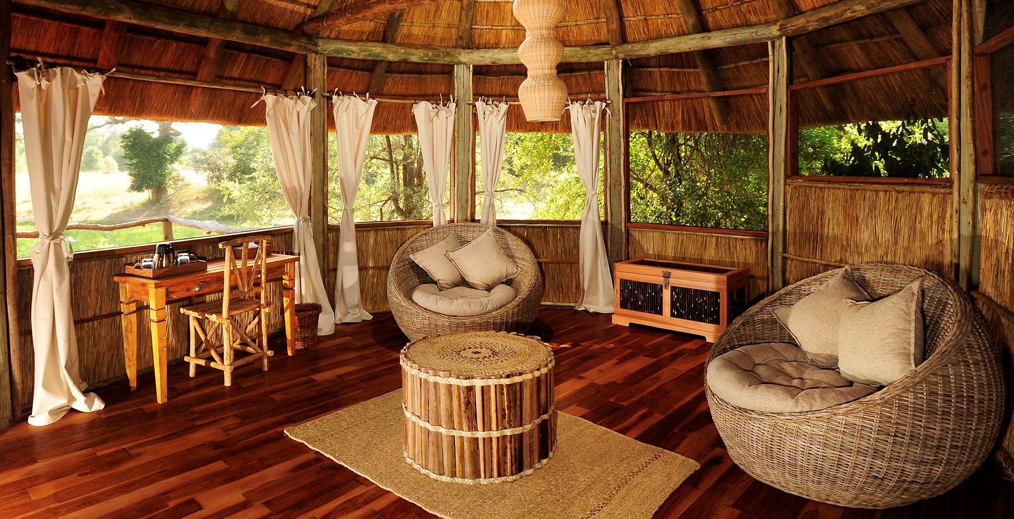 Zambia-Bilimungwe-Bushcamp-Lounge