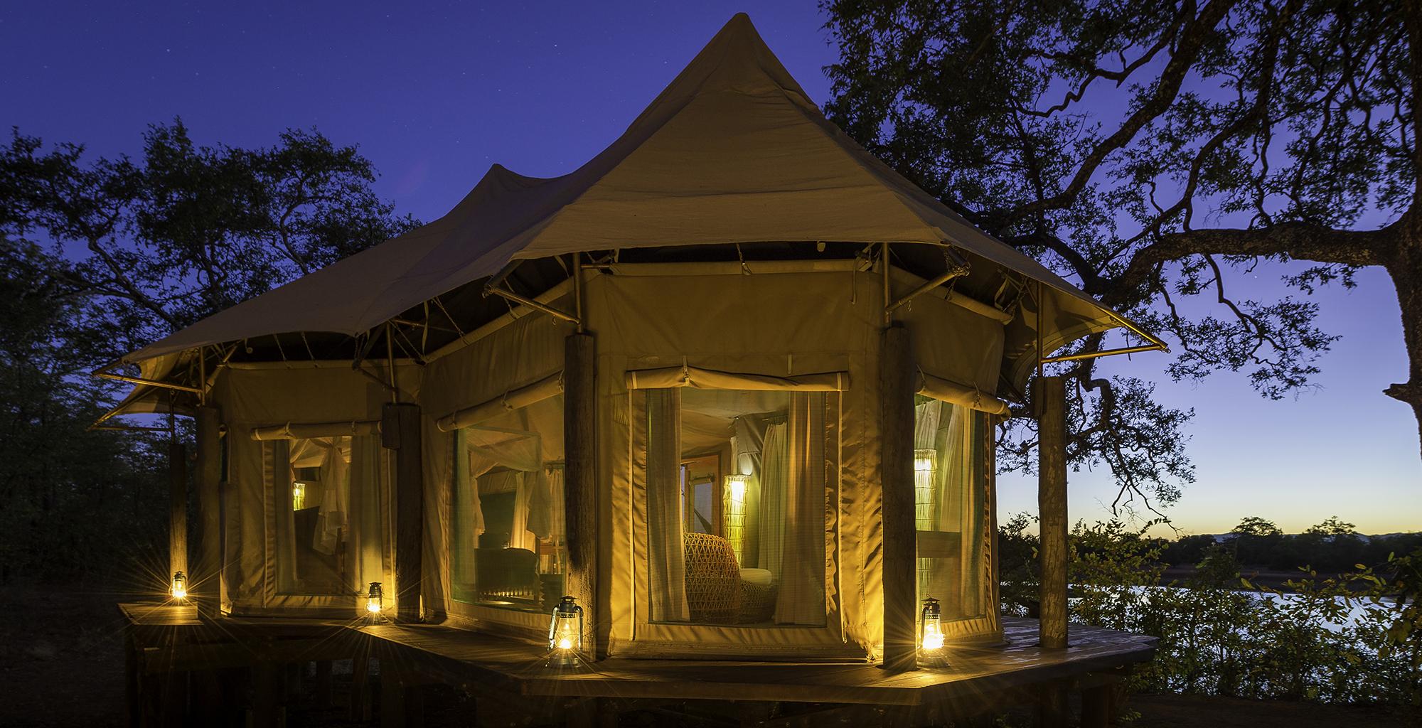 Zambia-Chindeni-Camp-Exterior