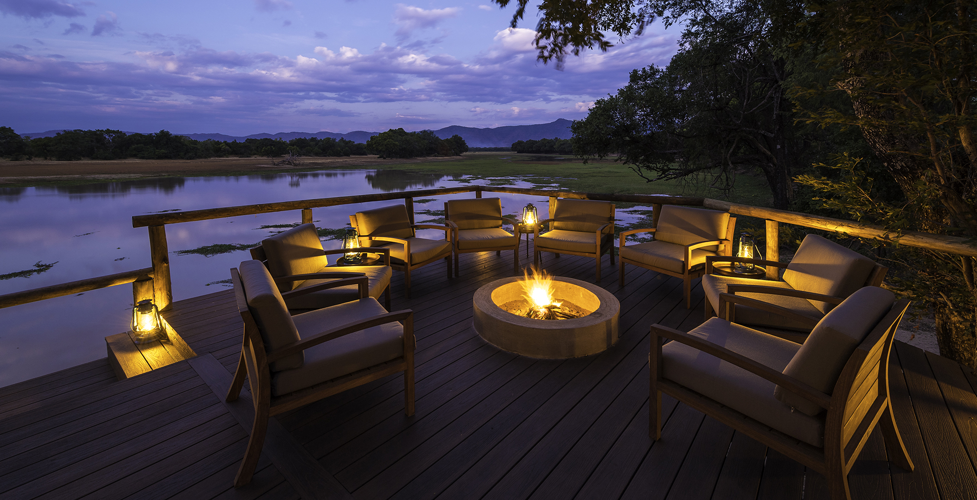 Zambia-Chindeni-Camp-Deck-Fire