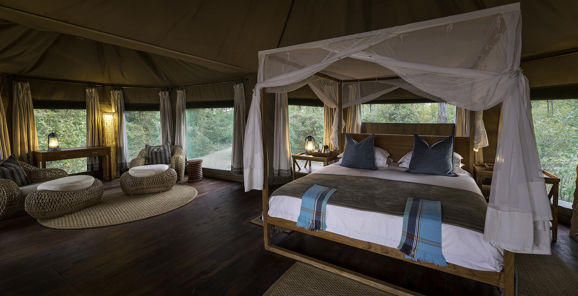 Zambia-Chindeni-Camp-Bedroom