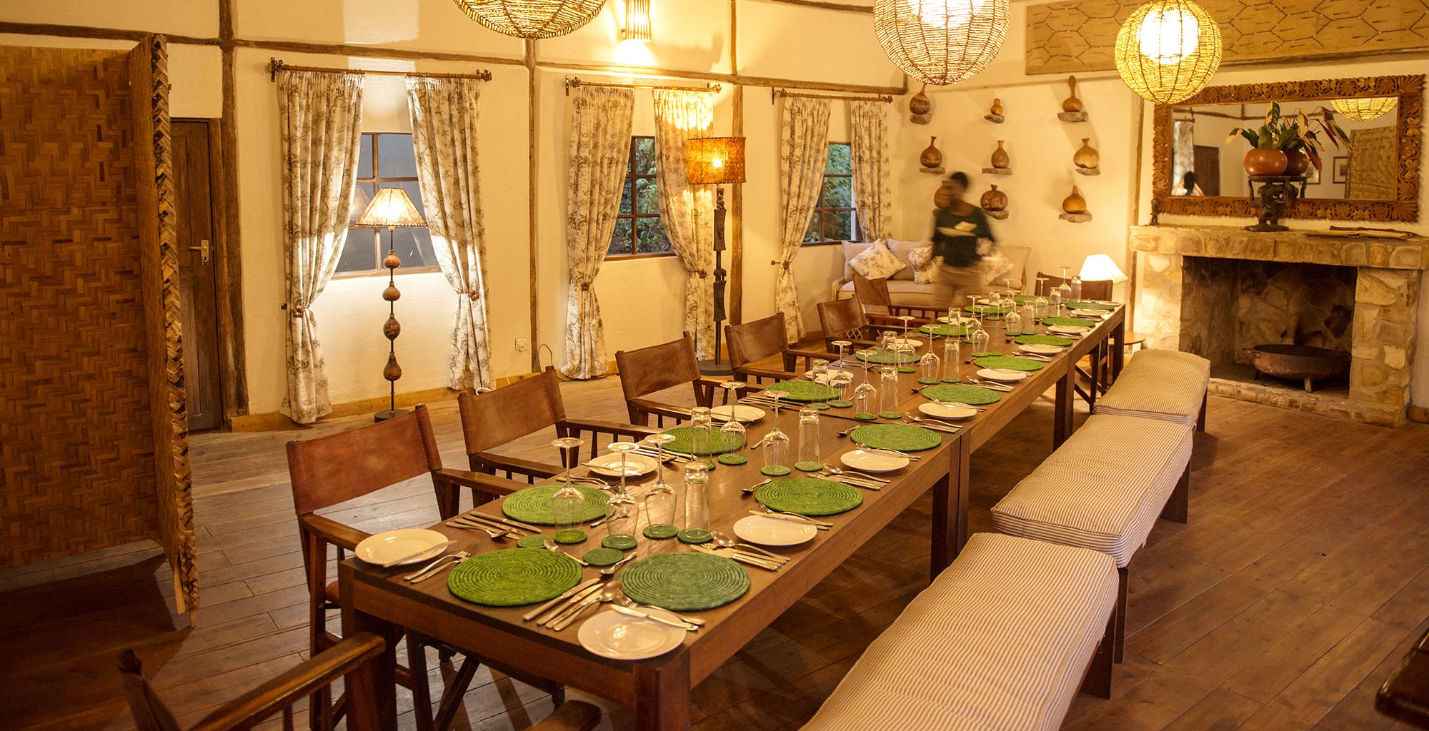 Uganda-Bwindi-Lodge-Dining