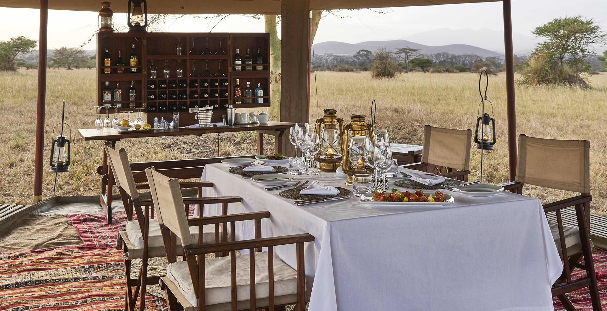Tanzania-Legendary-Serengeti-Camp-Dining