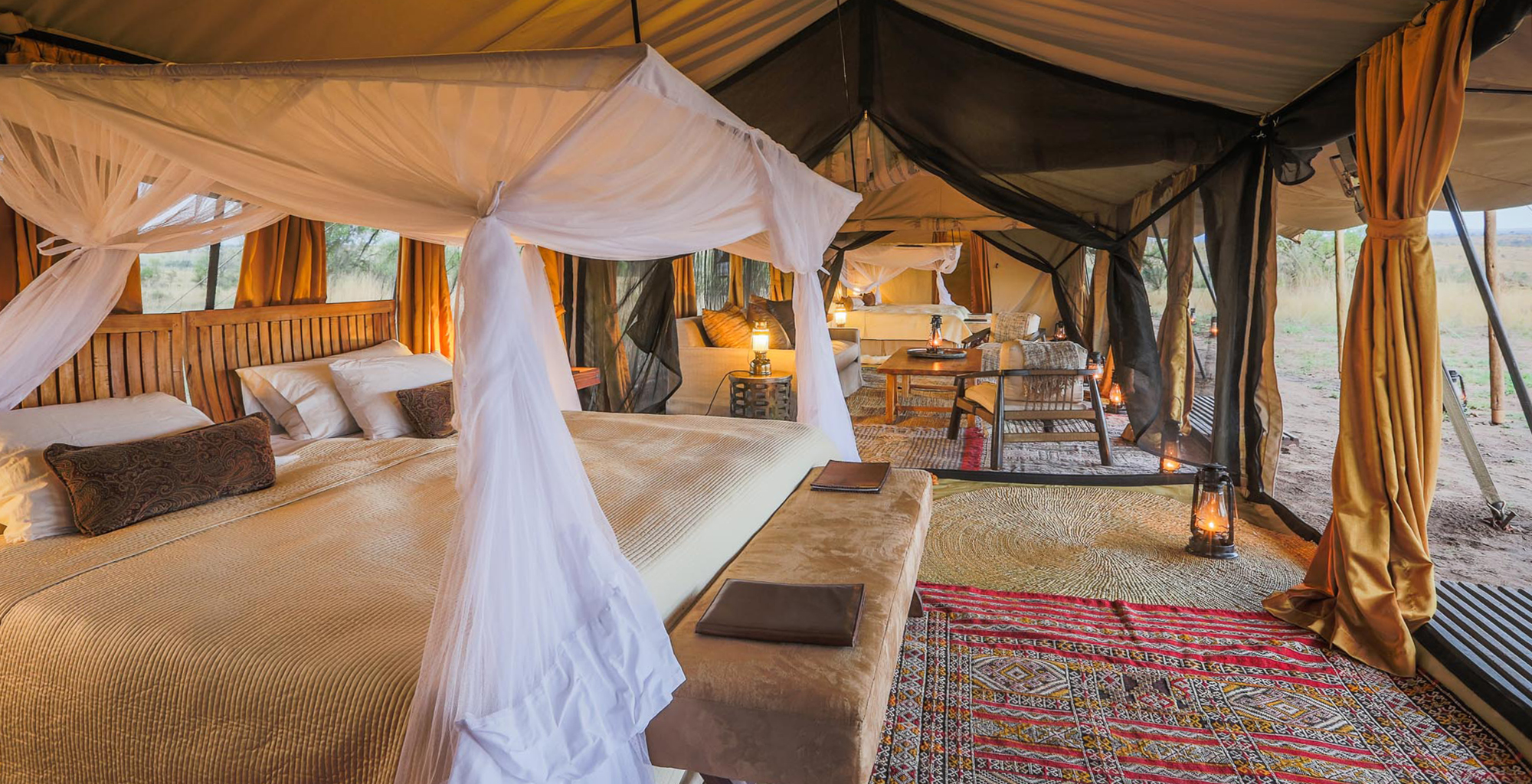 Tanzania-Legendary-Serengeti-Camp-Bedroom