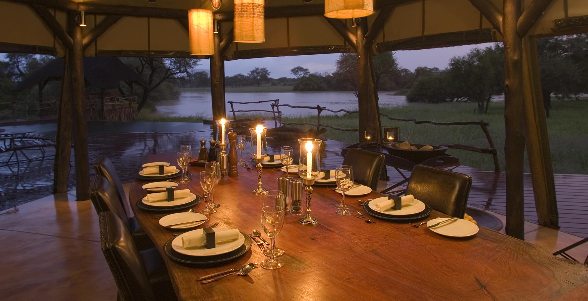 Namibia-Okonjima-Villa-Dining-Room