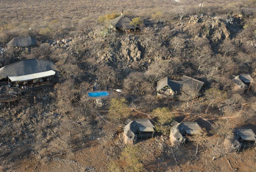 Namibia-Ongava-Lodge-Etosha-Aerial