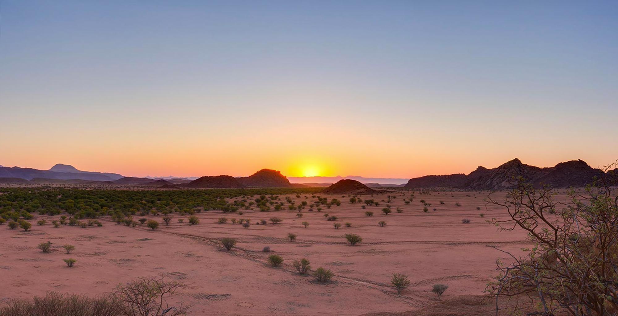Namibia-Damaraland-Landscape-Sunset