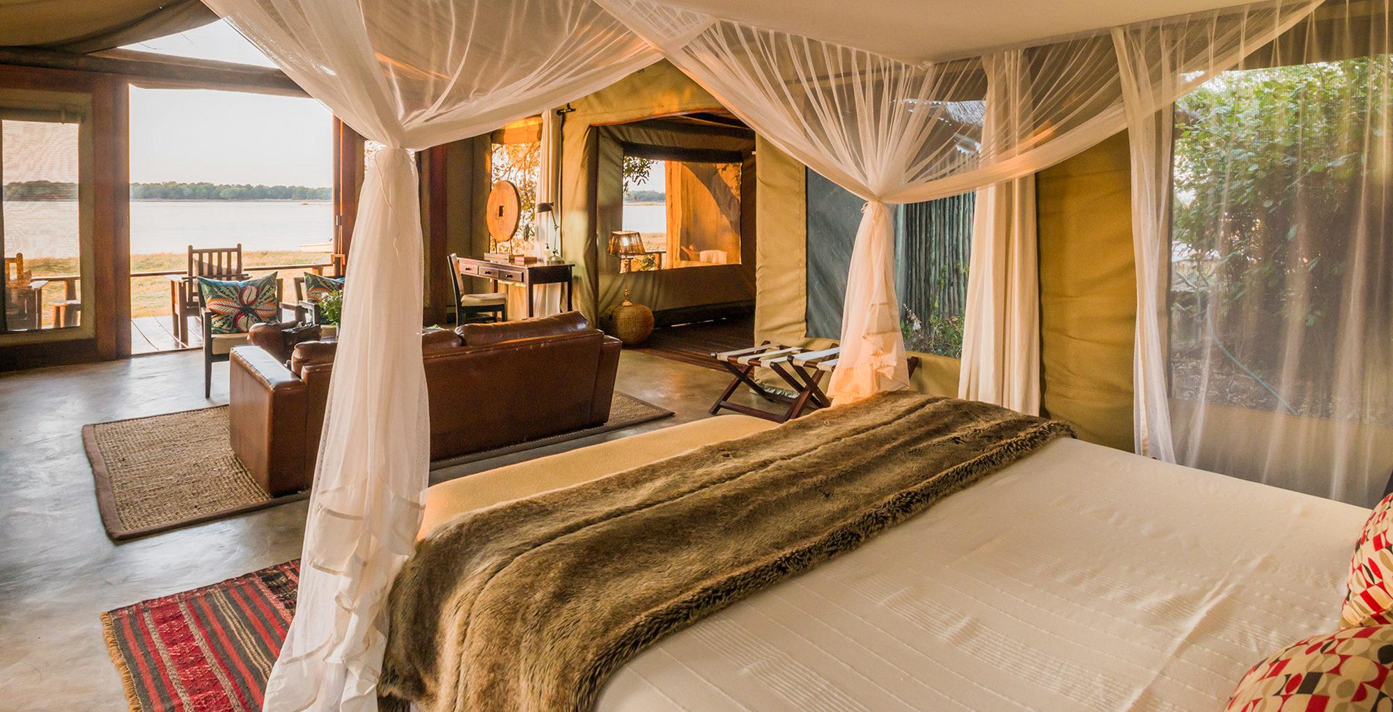Zambia-Royal-Zambezi-Bedroom-View