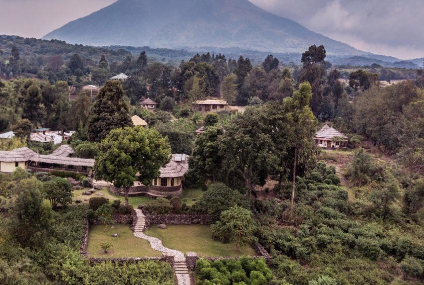 Uganda-Mount-Gahinga-Aerial