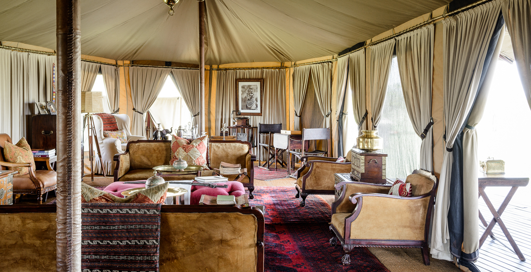 Singita Sabora Camp Interior