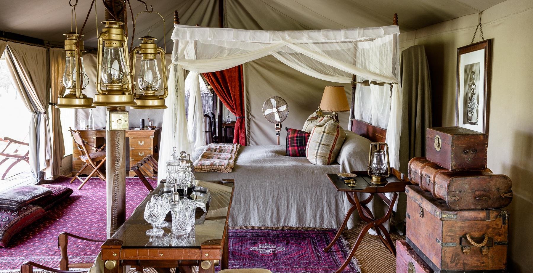 Singita Sabora Camp InteriorSingita Sabora Camp InteriorSingita Sabora Camp Bedroom