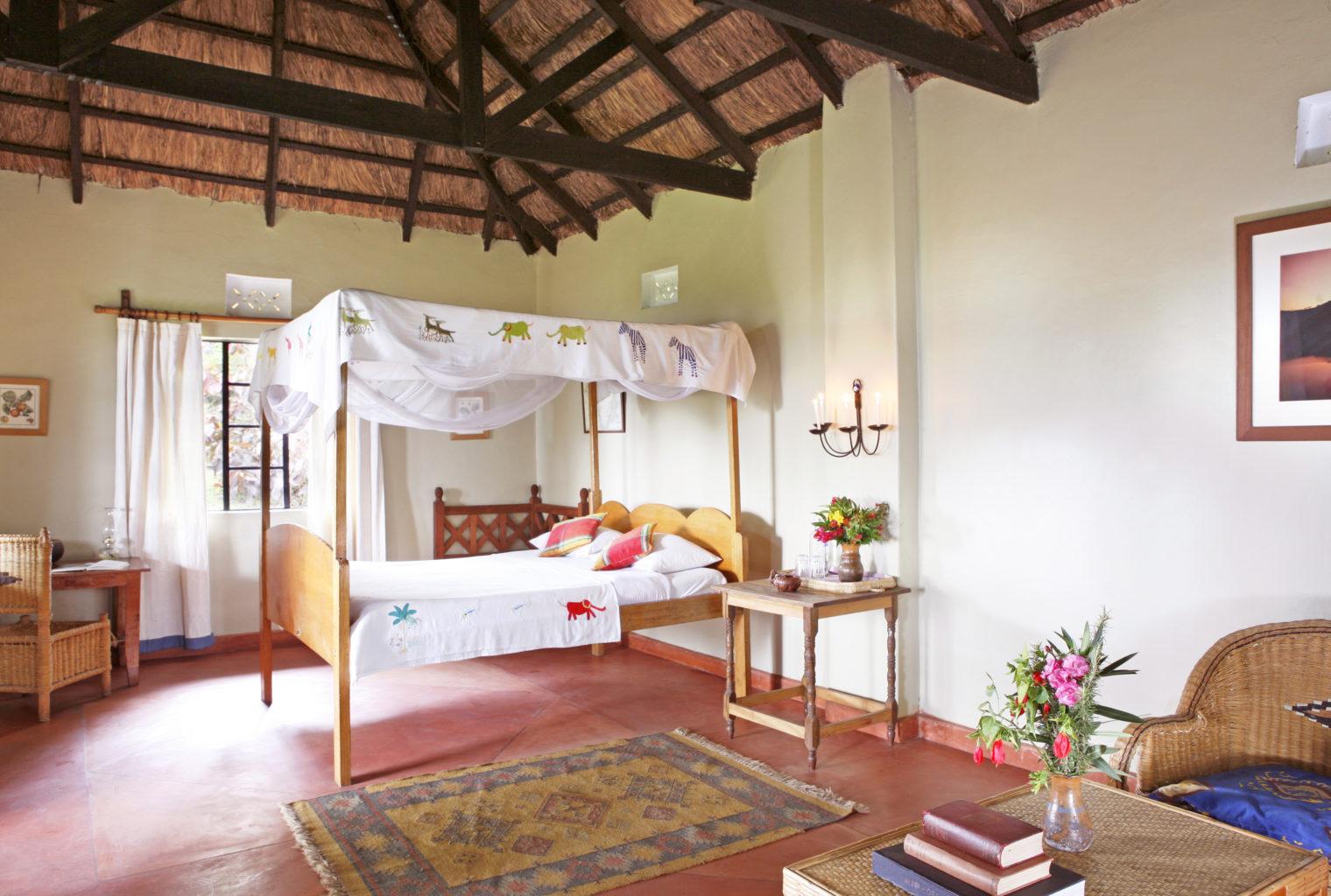 Ndali Lodge Uganda Bedroom