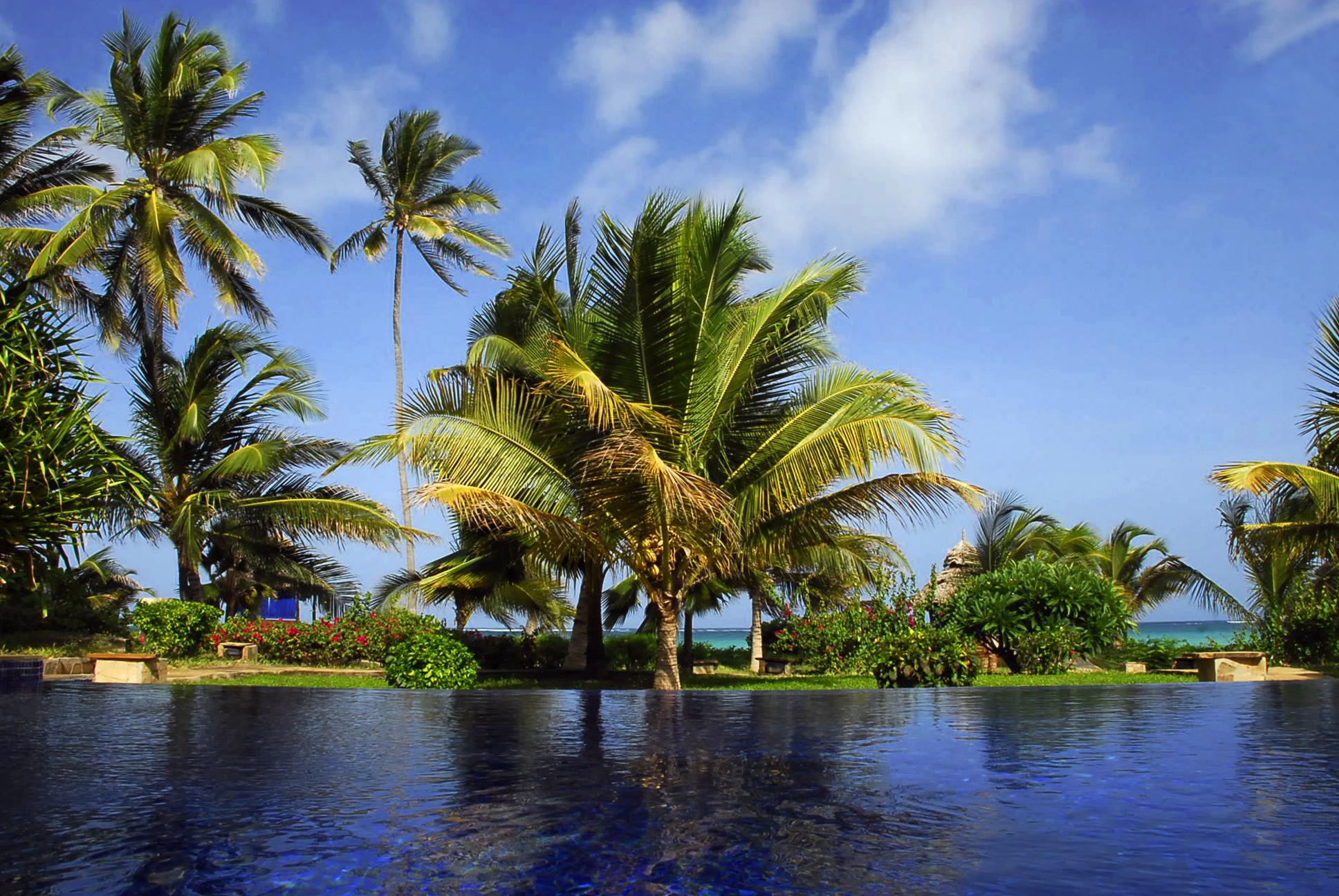 The Palms Hotel Tanzania Pool