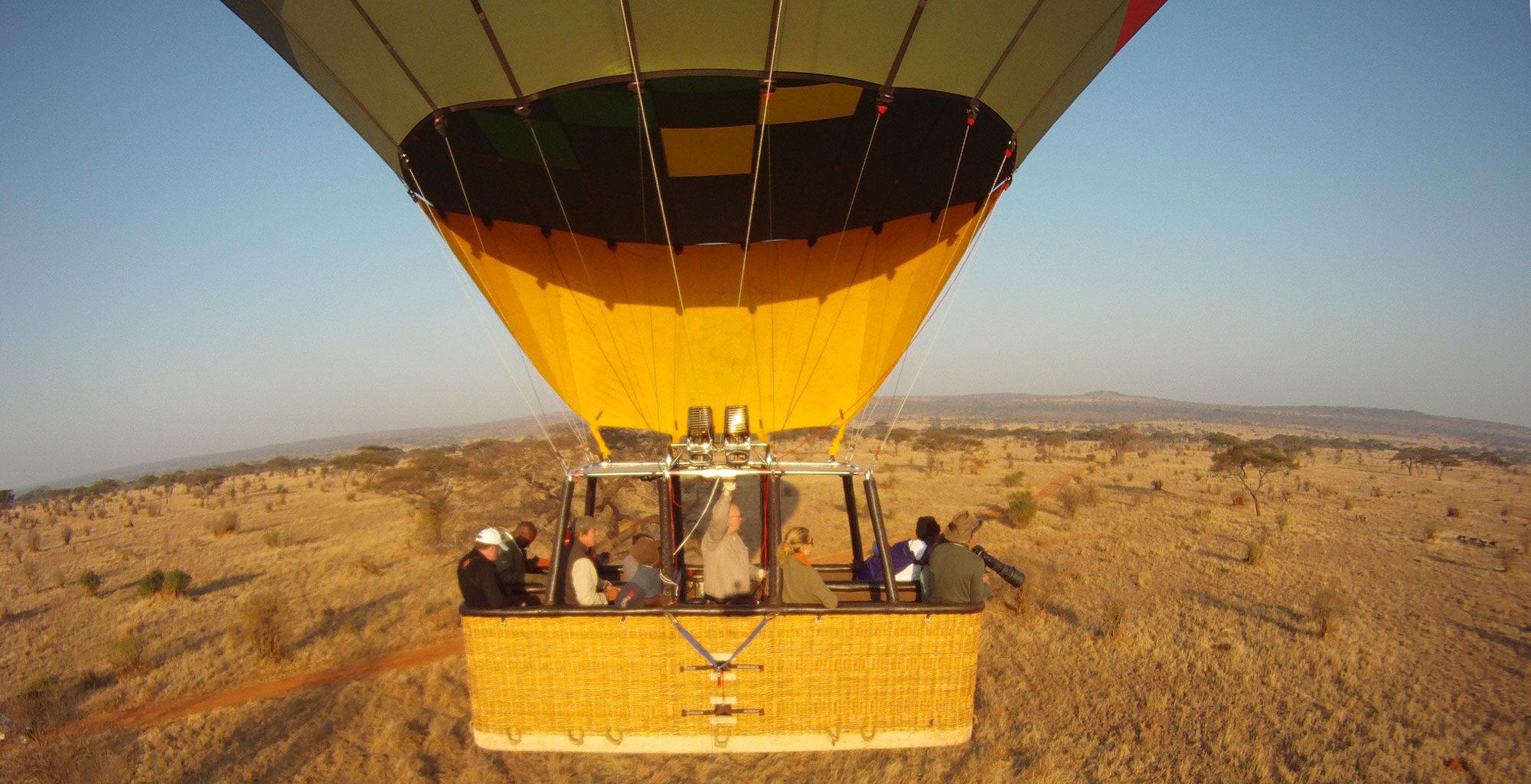 Tanzania-Tarangire-Ballooning