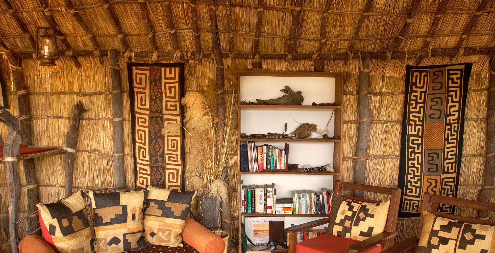 Mwaleshi Camp Zambia Lounge