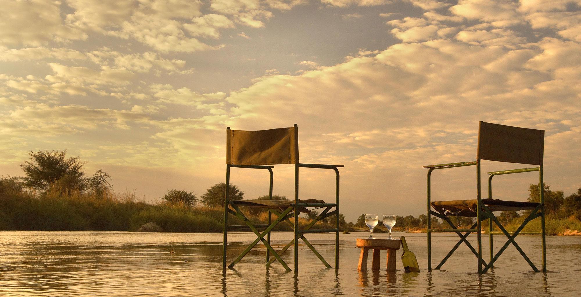 Mwaleshi Camp Zambia Seating