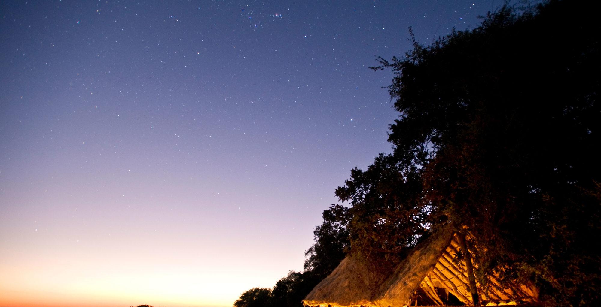 Tafika-camp--Zambia-dusk