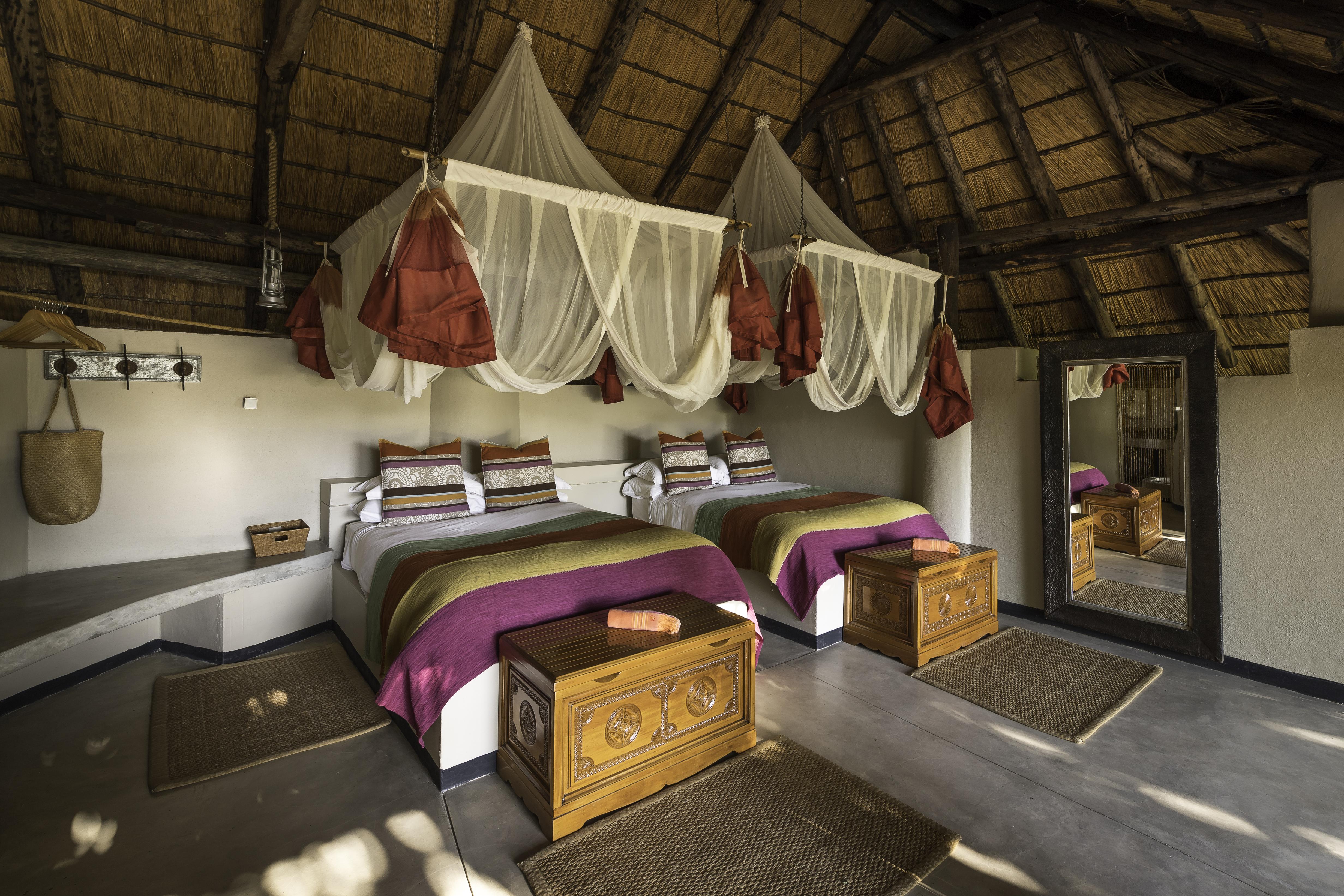 Kapamba Bush Camps Zambia Bedroom