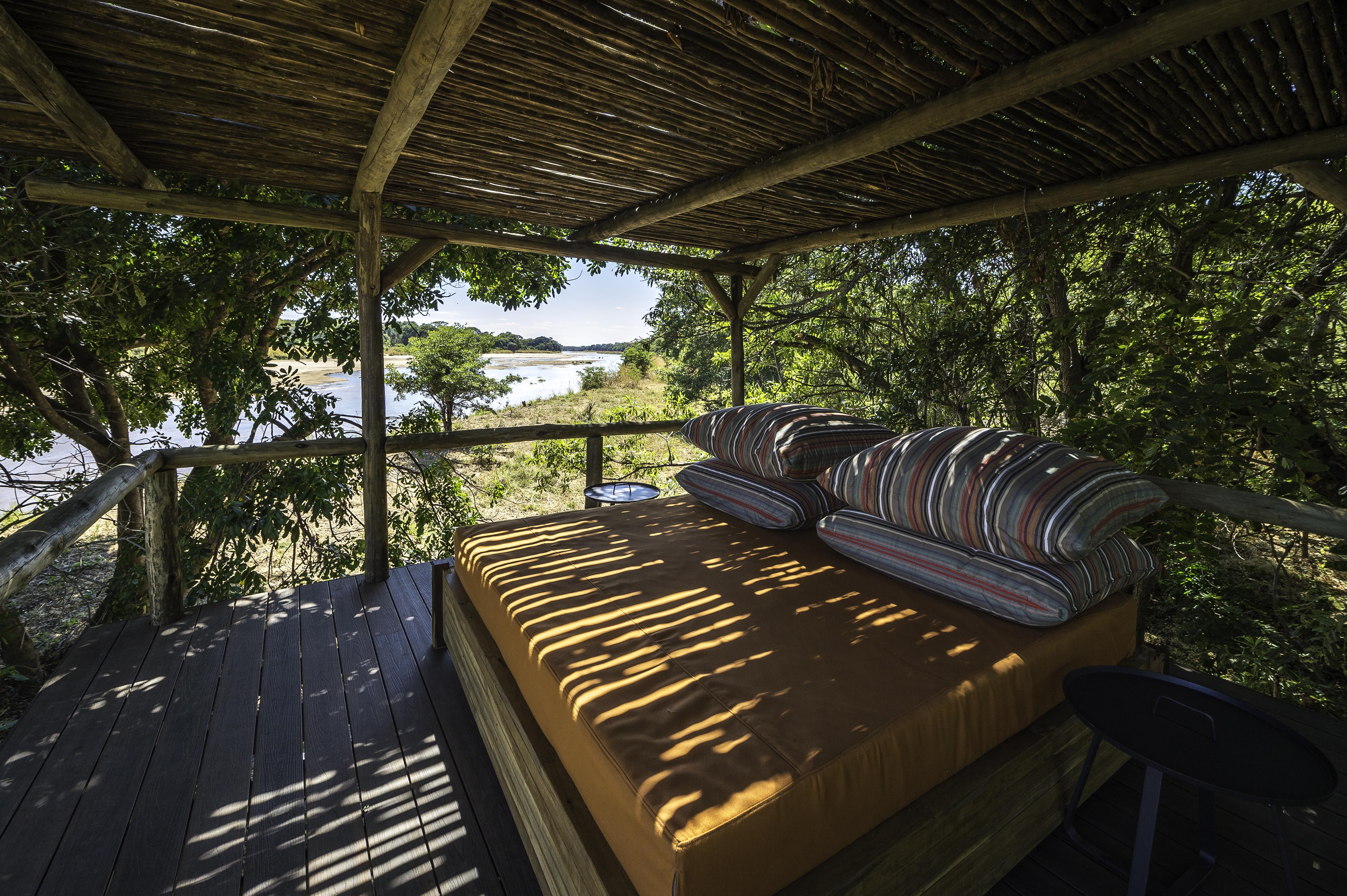 Kapamba Bush Camps Zambia Deck