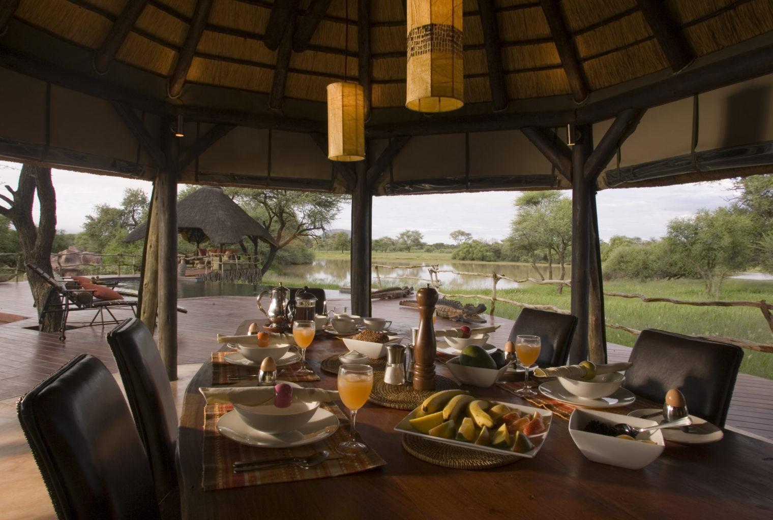 Okonjima Villa Namibia Dining