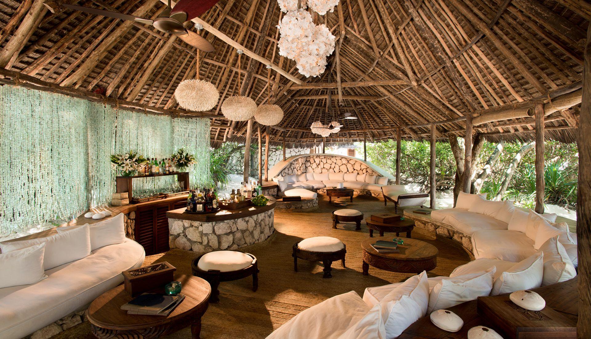 Mnemba Island Lodge Tanzania Lounge