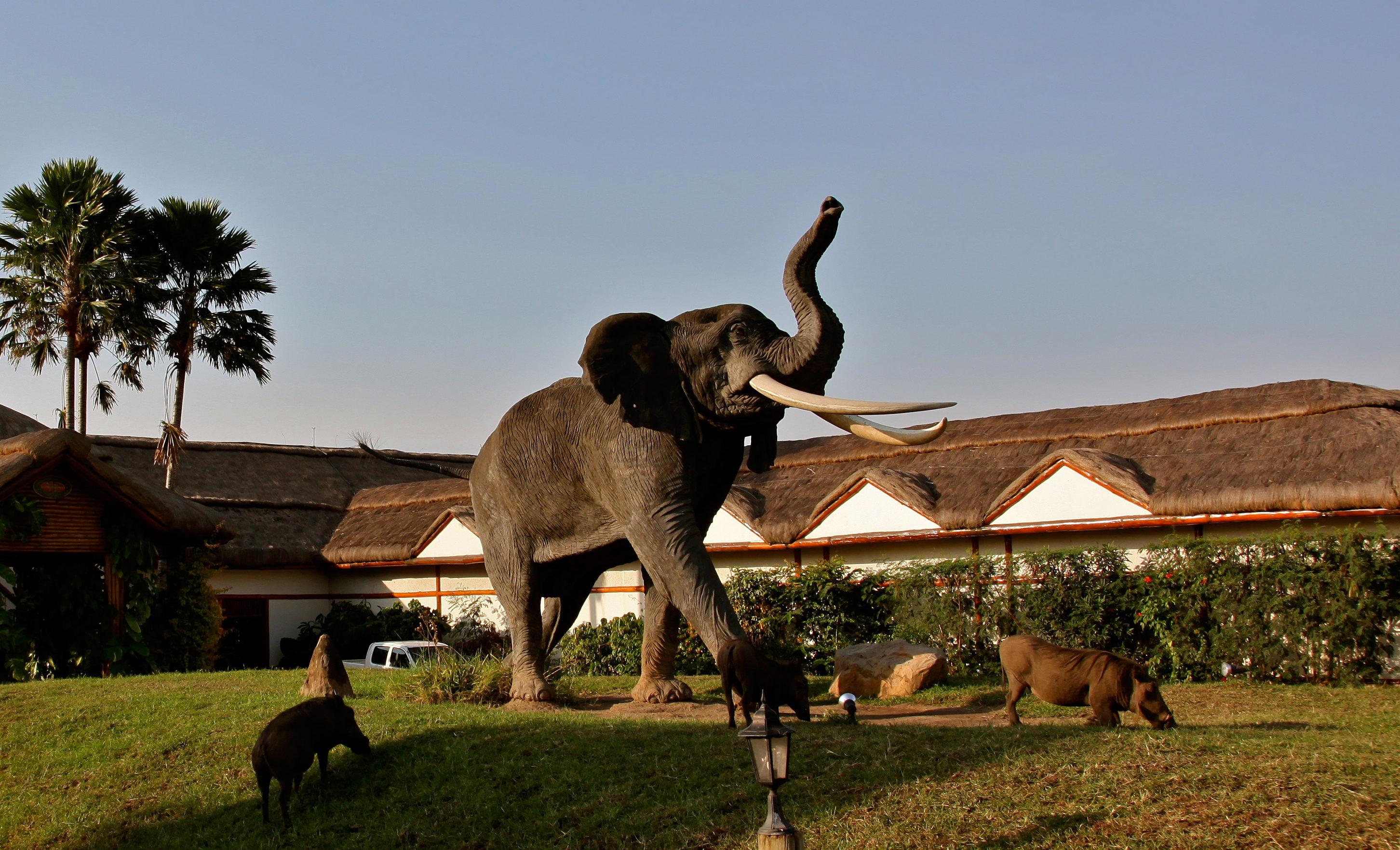 Mweya Lodge Uganda Exterior