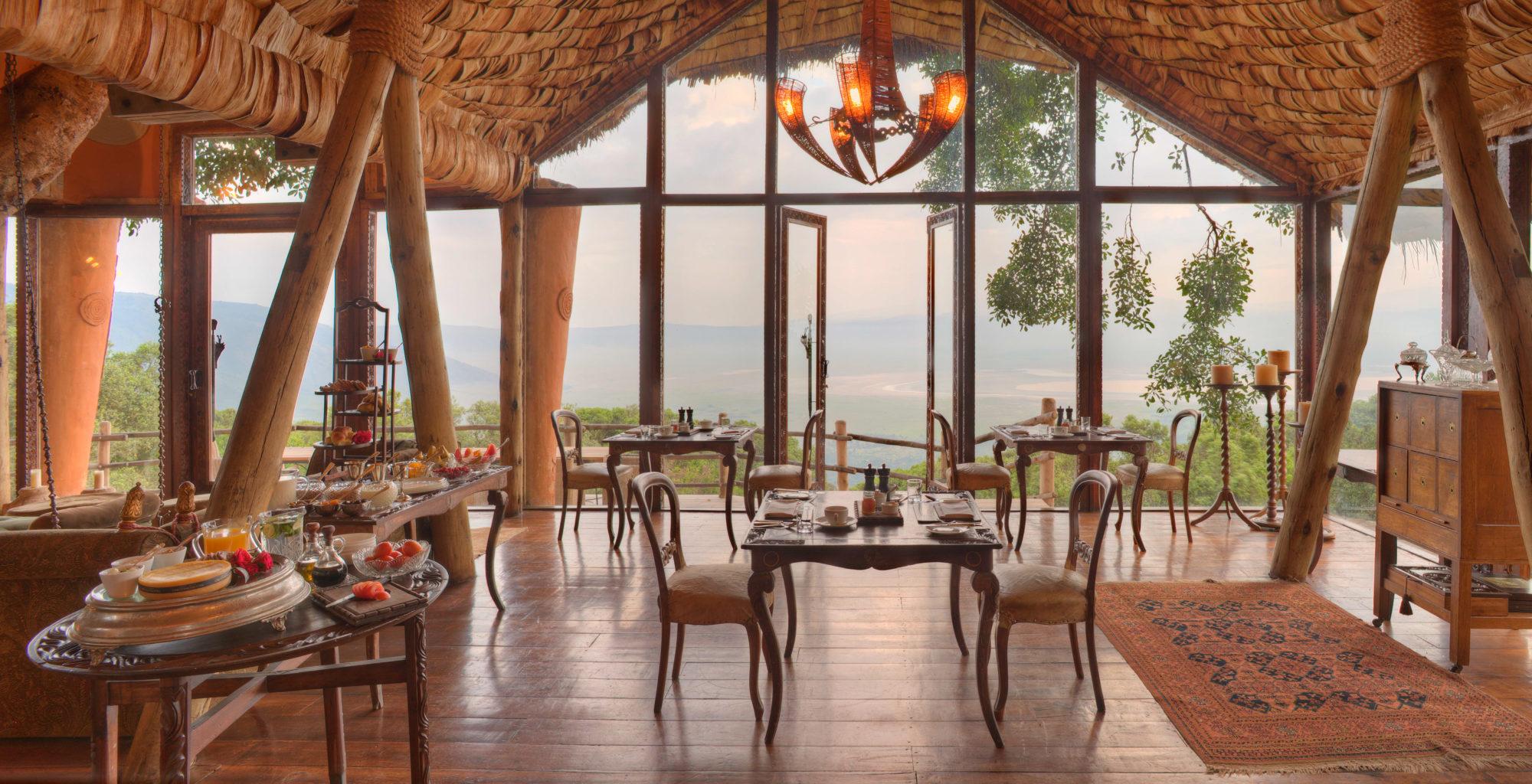 Ngorongoro Crater Lodge Dining