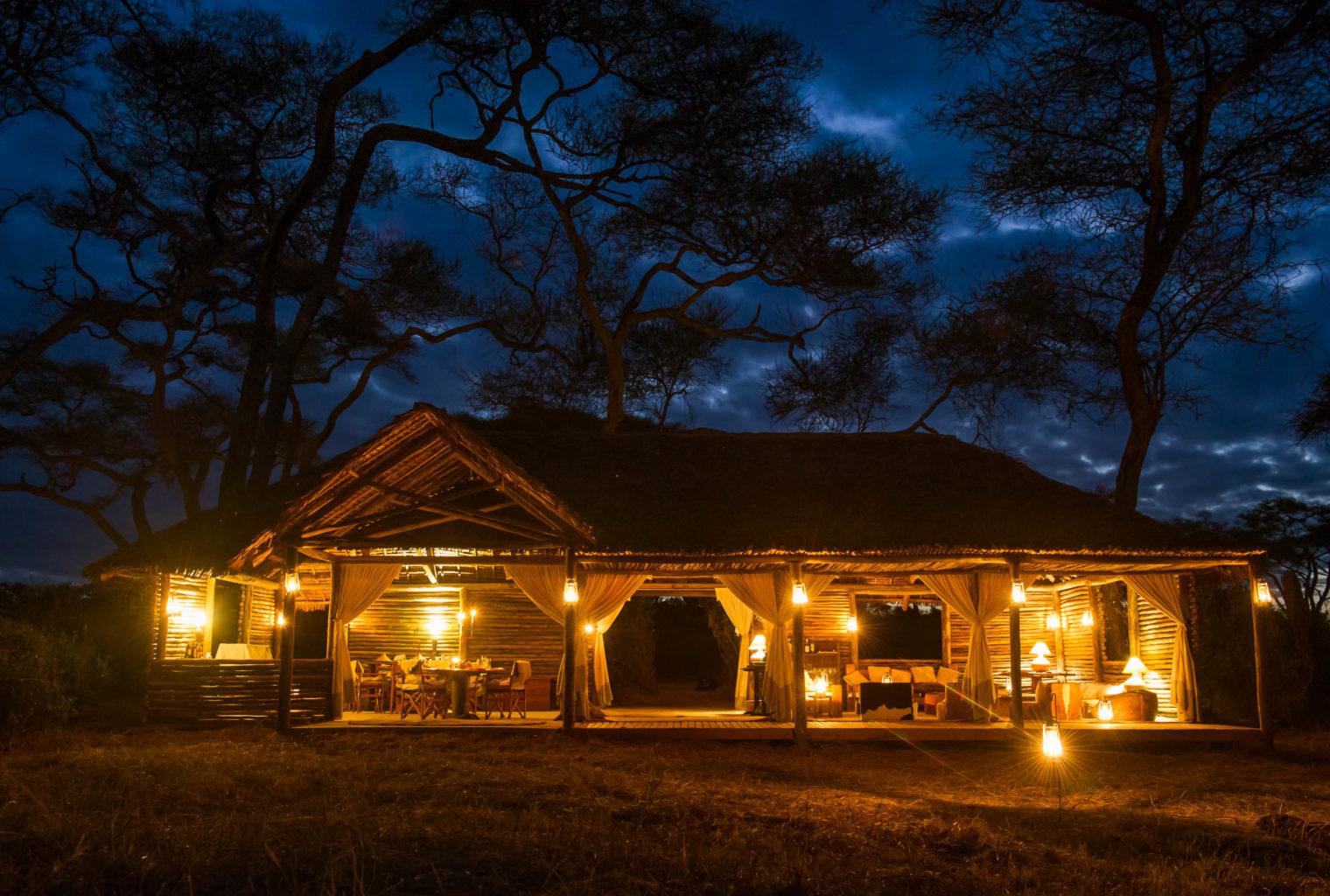 Kuro Tarangire Tanzania Exterior Night