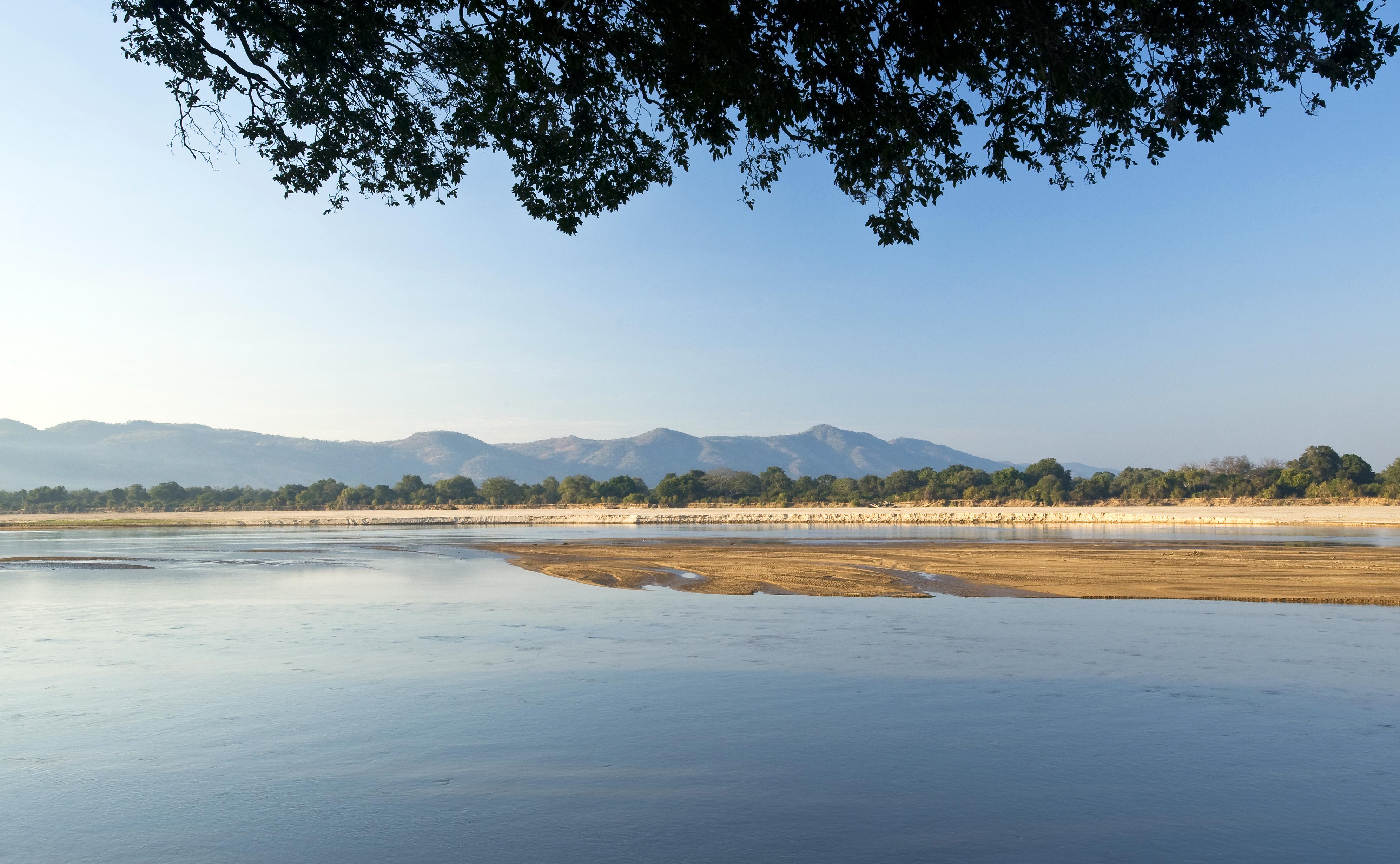 Chamilandu Camp Zambia Landscape