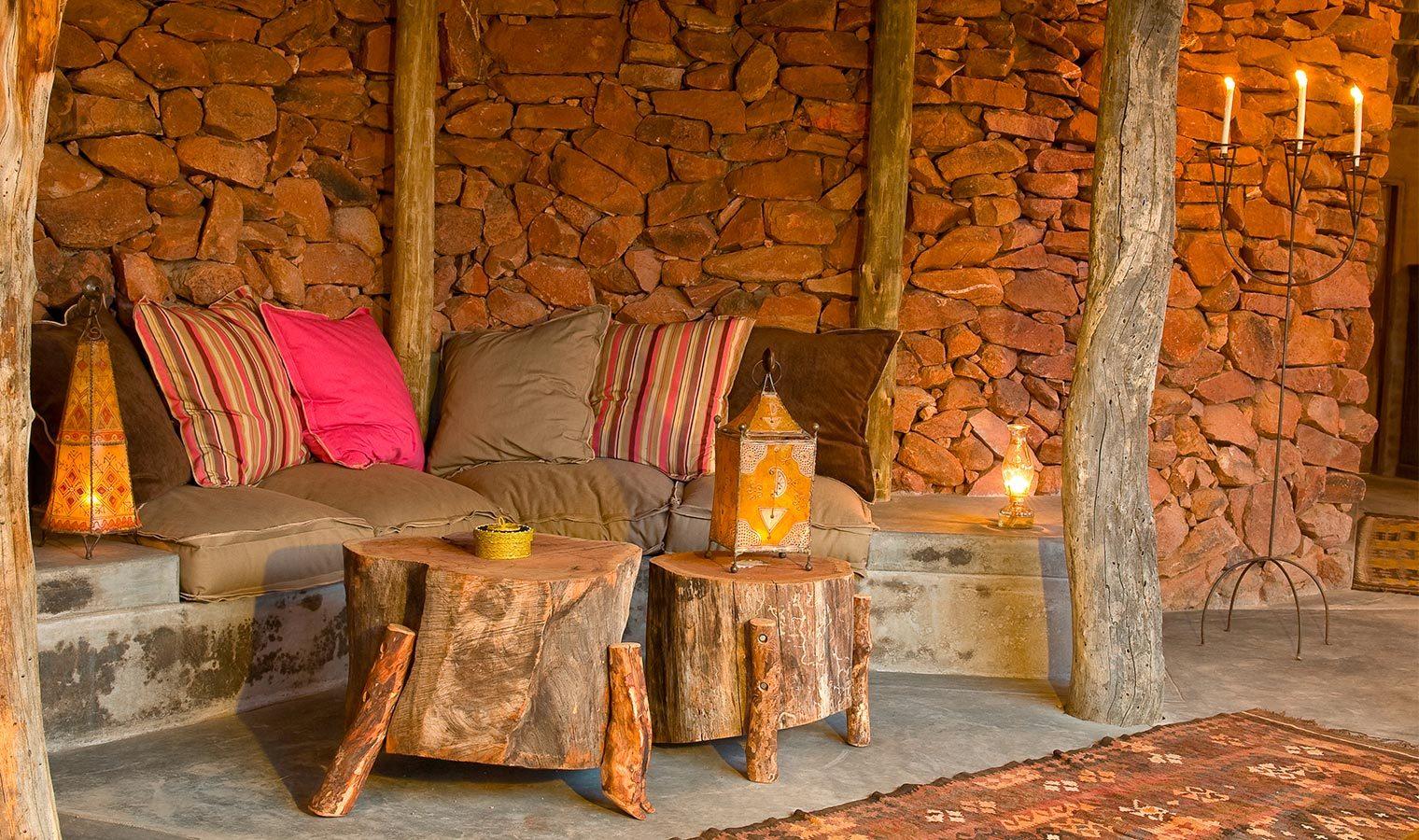 Camp Kipwe Namibia Lounge