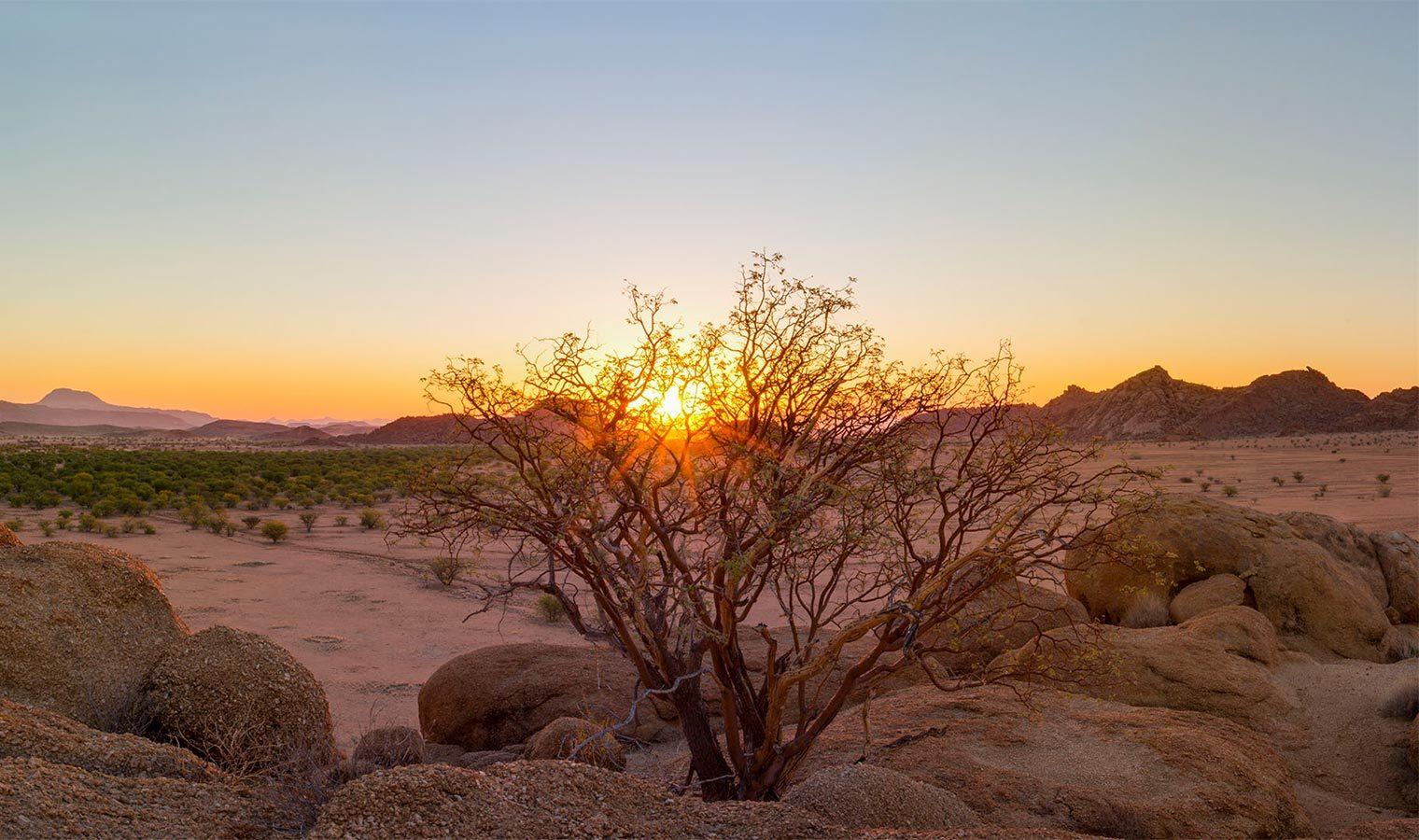 Camp Kipwe Namibia Sunset