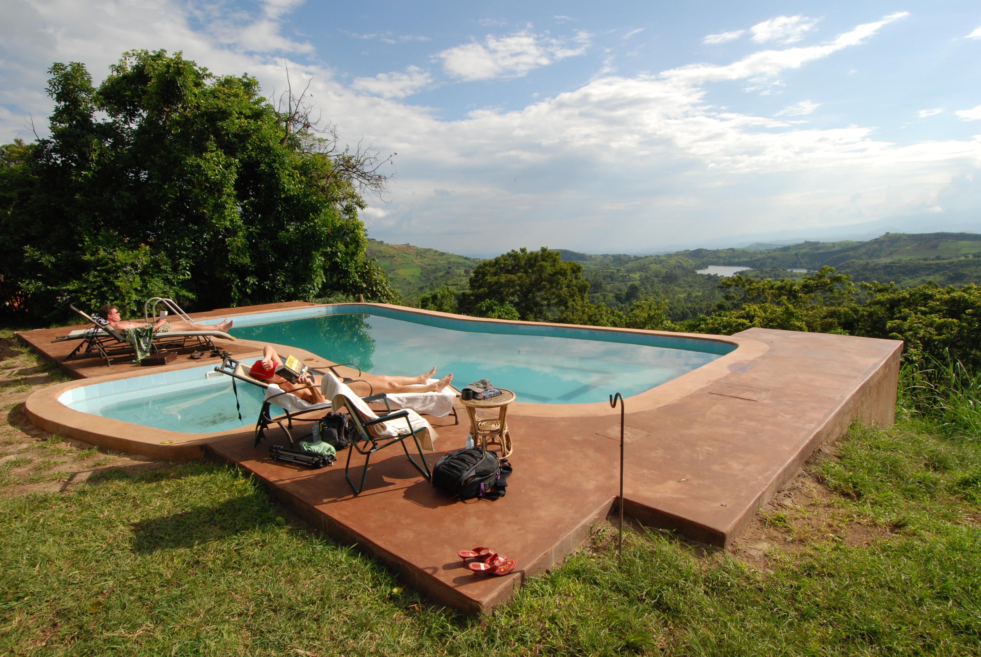 Ndali Lodge Uganda Pool