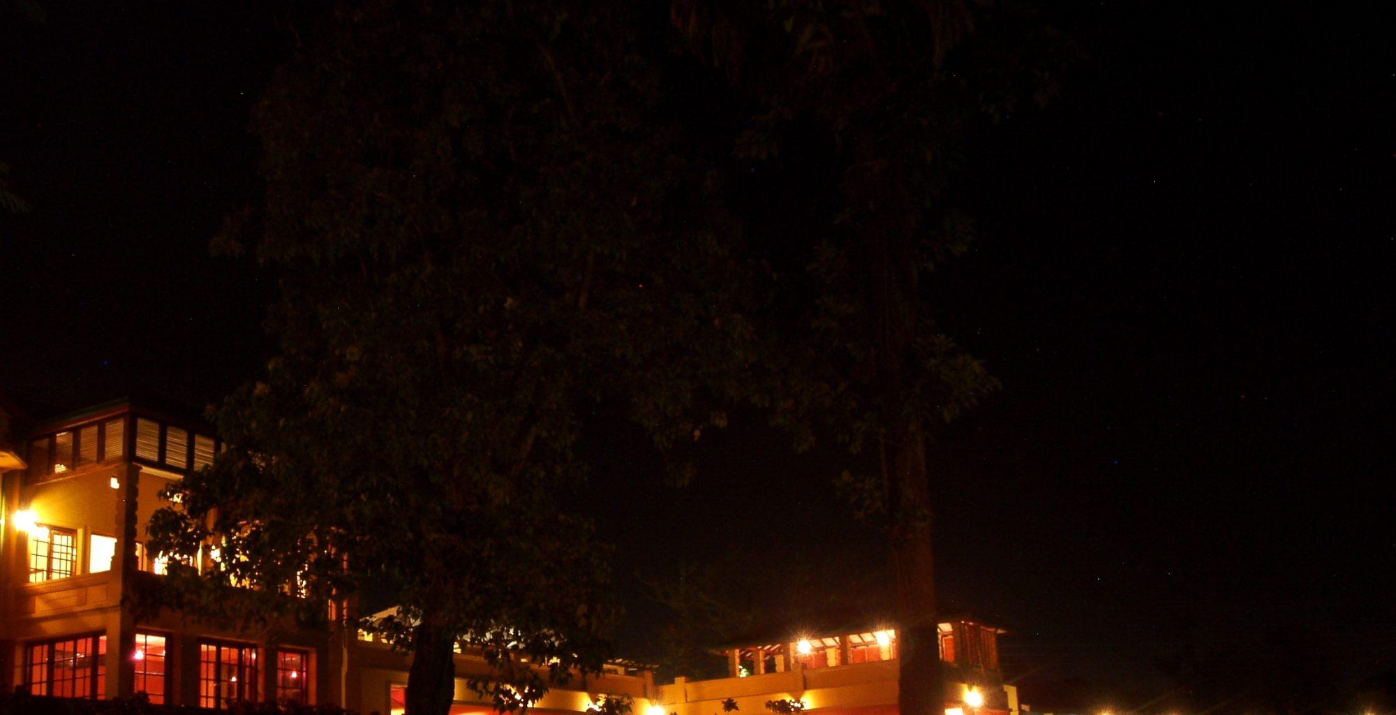 Emin Pasha Uganda Pool Night