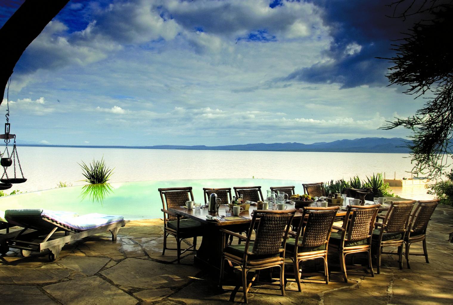 Samatian Island Lodge Kenya Pool